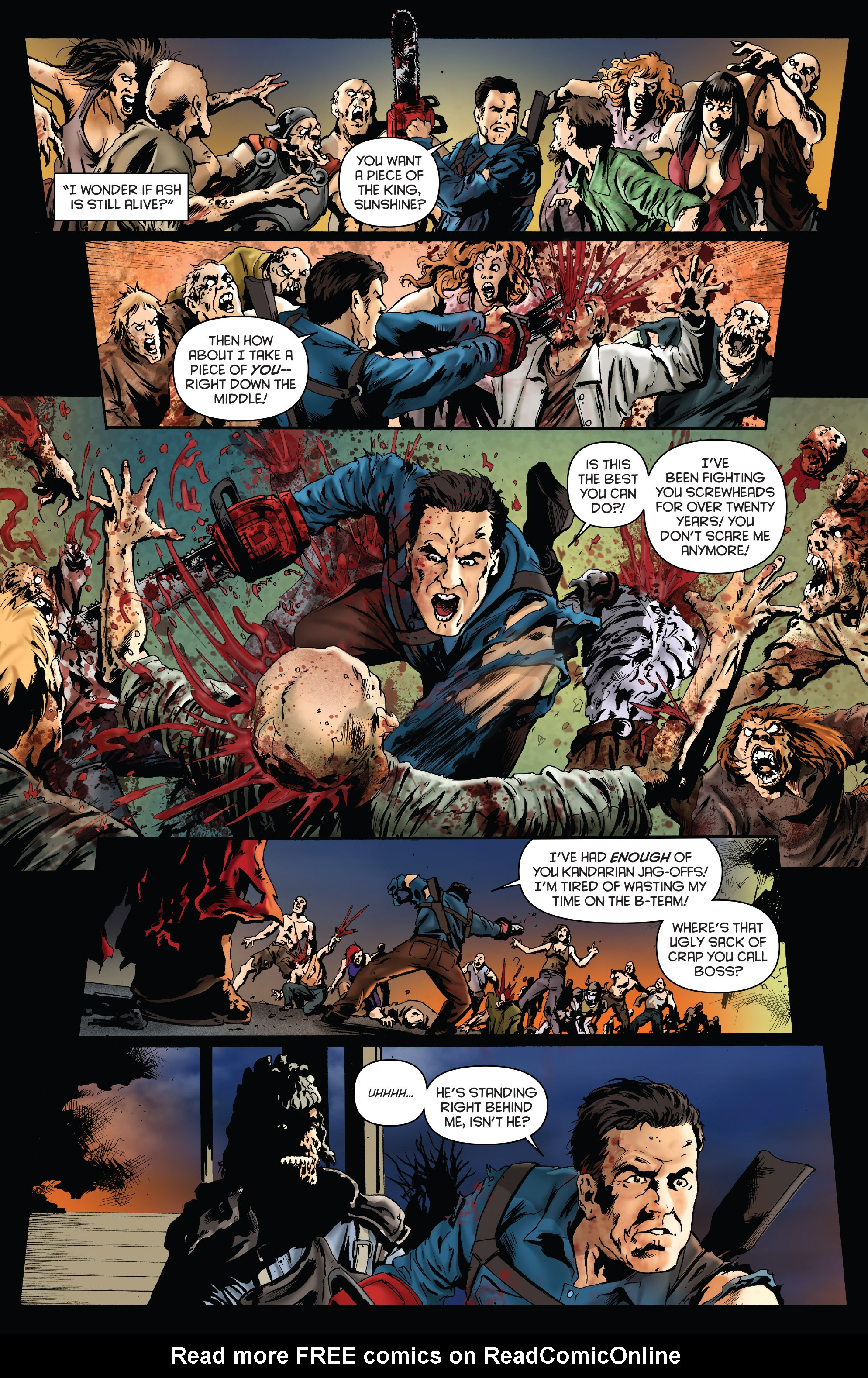Read online Army of Darkness: Furious Road comic -  Issue #4 - 19