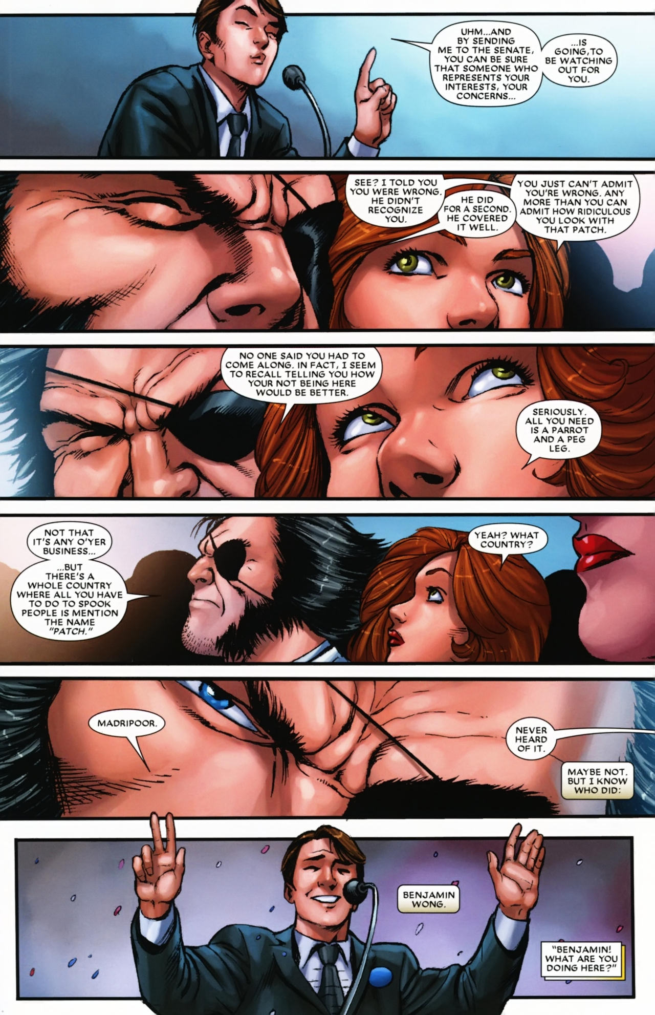 Read online Wolverine: First Class comic -  Issue #17 - 4
