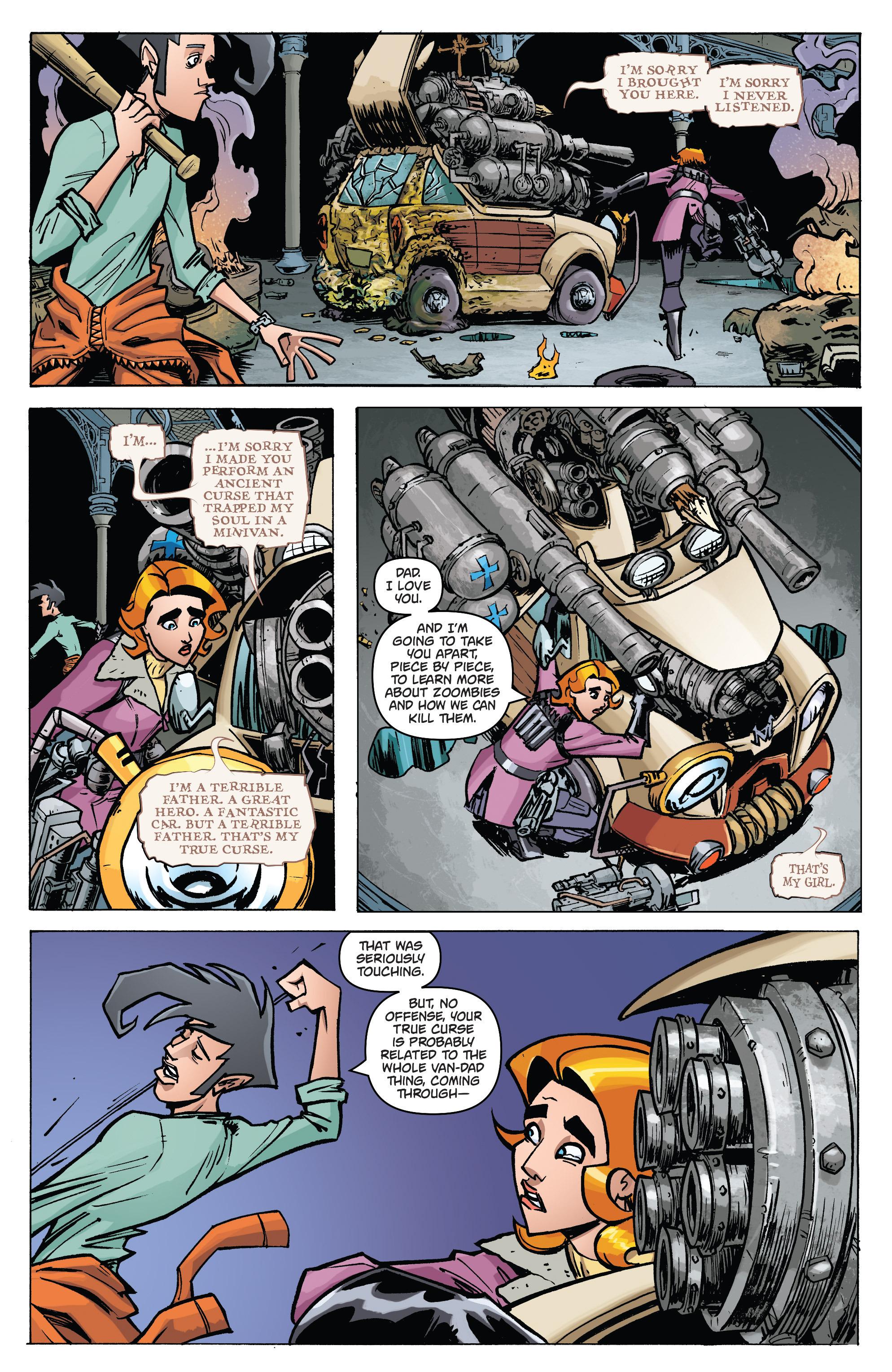 Read online Monster Motors: The Curse of Minivan Helsing comic -  Issue #2 - 11