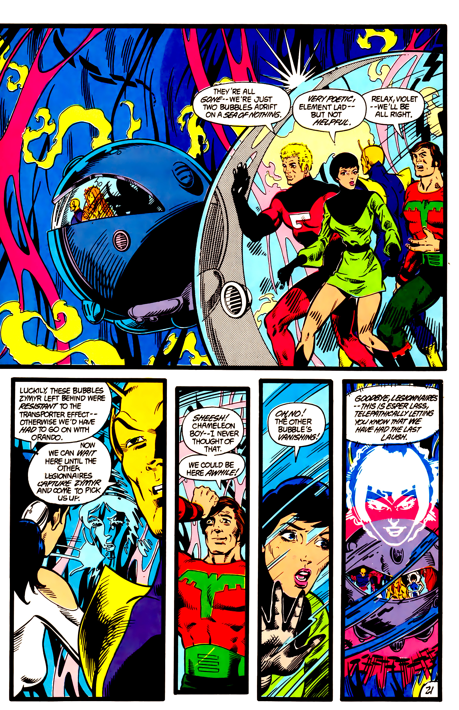 Legion of Super-Heroes (1984) 5 Page 22