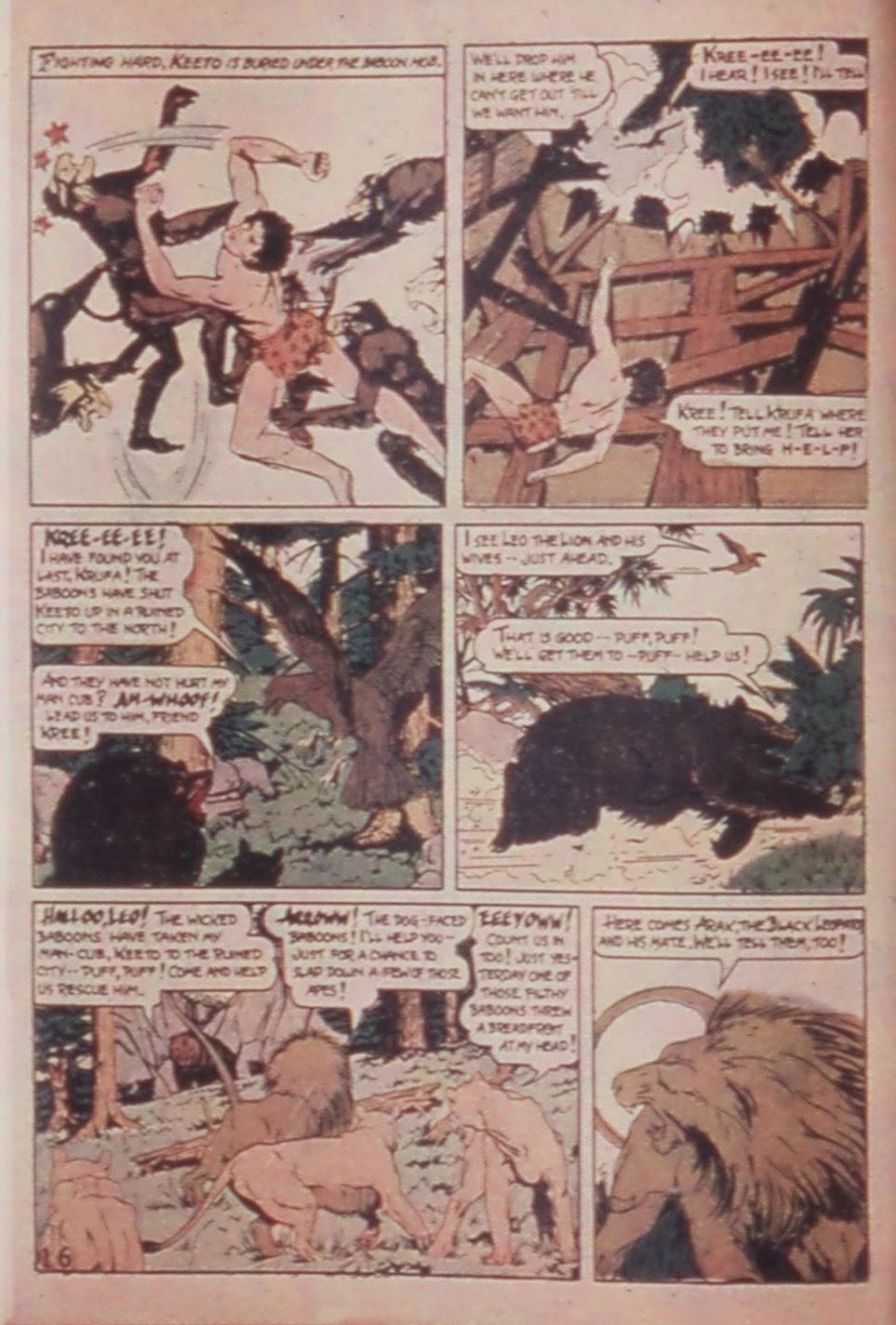 Read online Animal Comics comic -  Issue #6 - 18