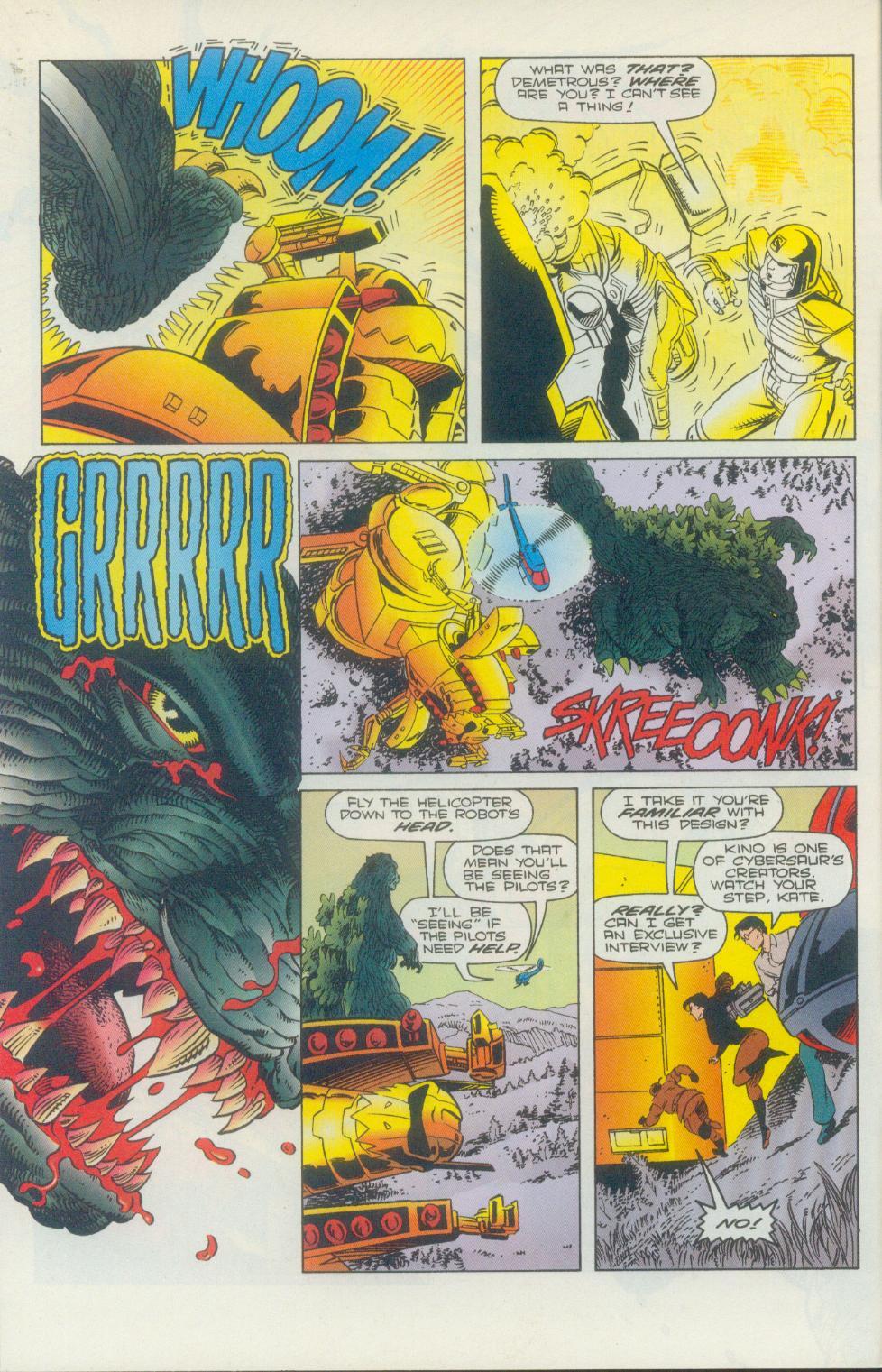 Godzilla (1995) Issue #2 #3 - English 9