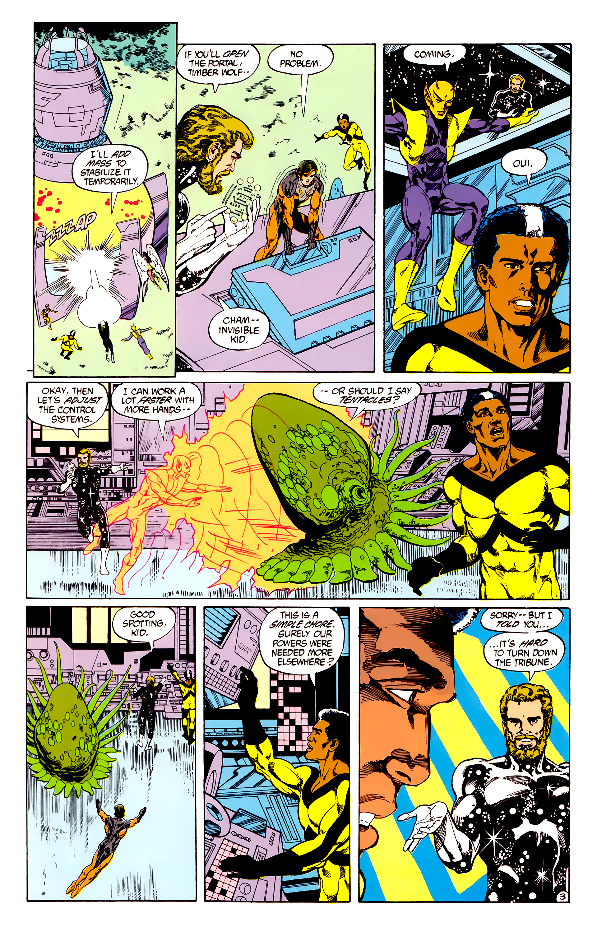 Legion of Super-Heroes (1984) 28 Page 4