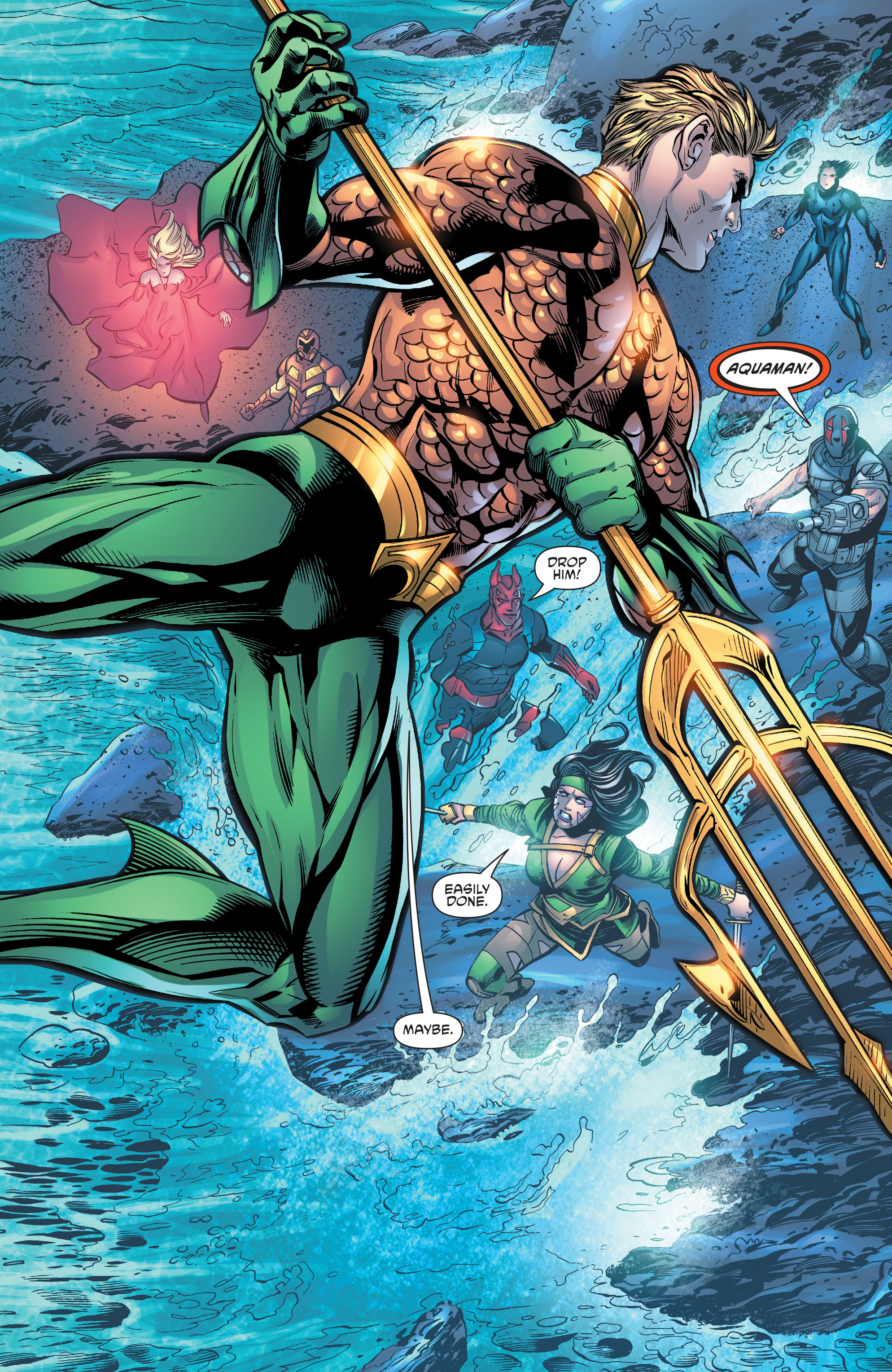 Read online Aquaman and the Others comic -  Issue #10 - 19