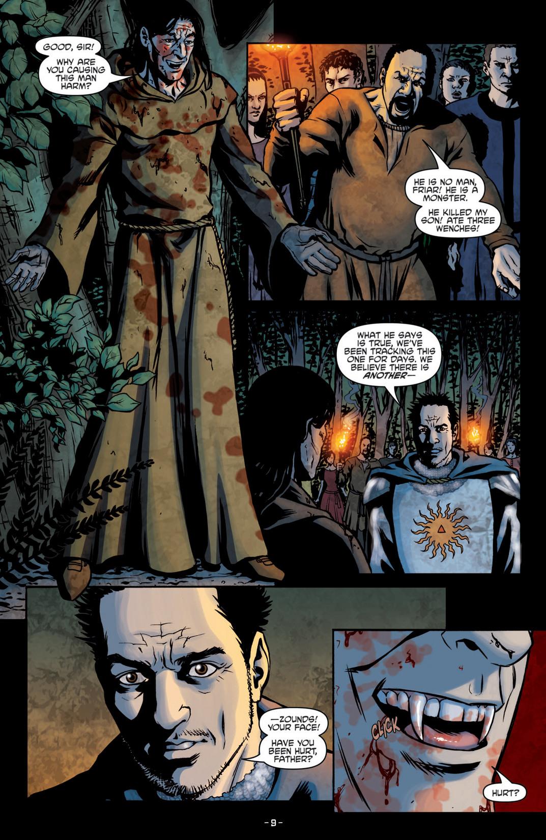 Read online True Blood (2012) comic -  Issue #5 - 12