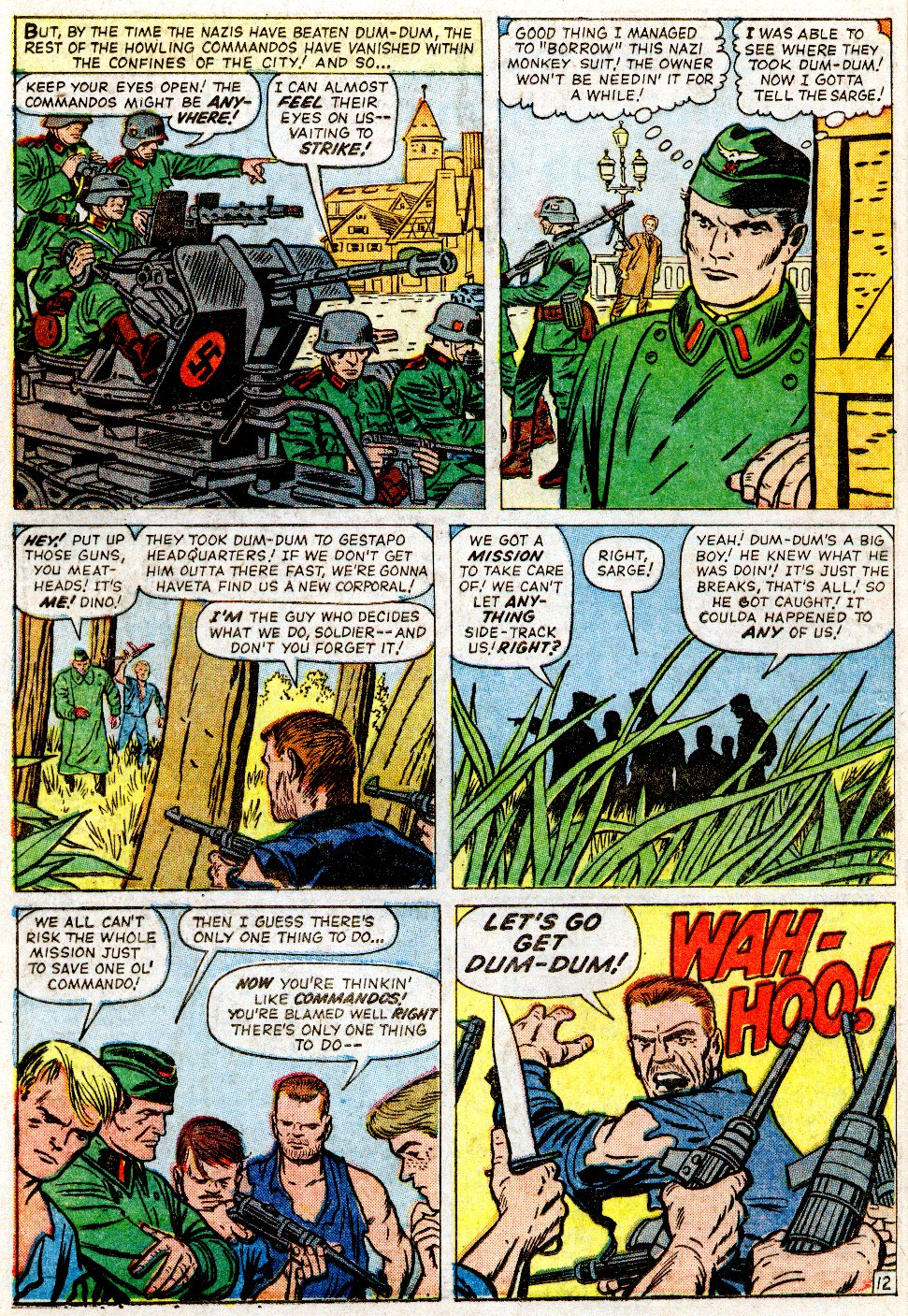 Read online Sgt. Fury comic -  Issue #2 - 16