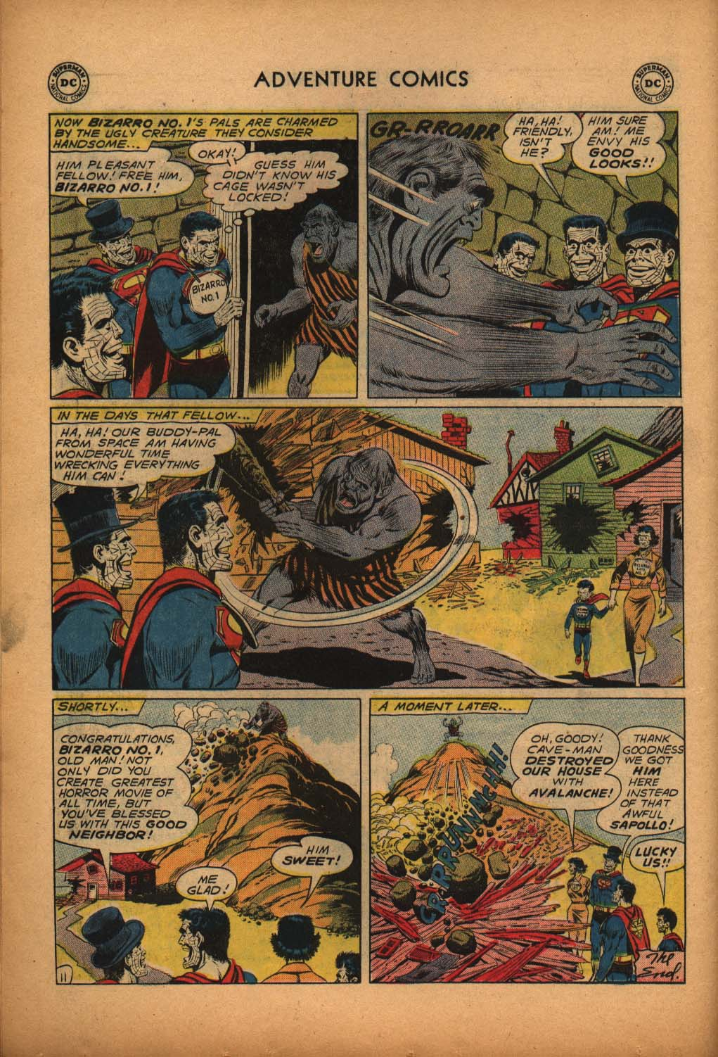 Read online Adventure Comics (1938) comic -  Issue #292 - 30