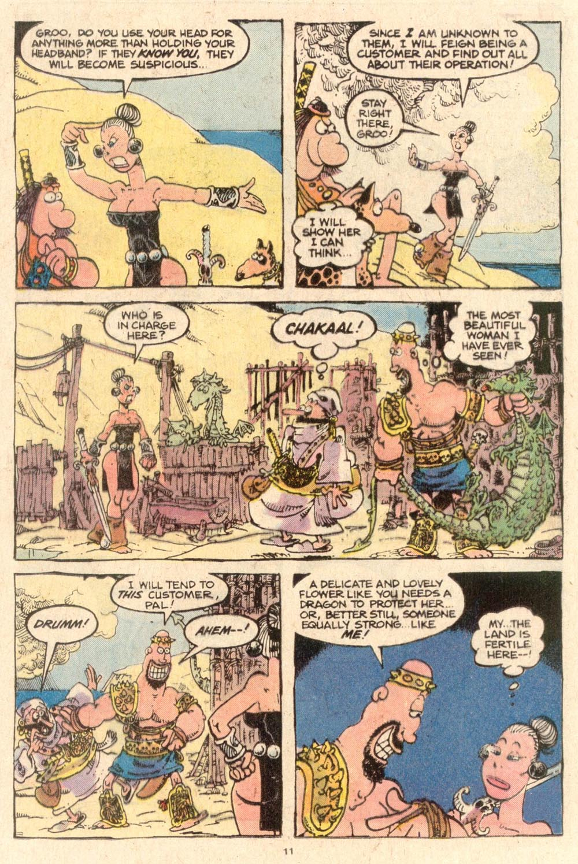 Read online Sergio Aragonés Groo the Wanderer comic -  Issue #53 - 11