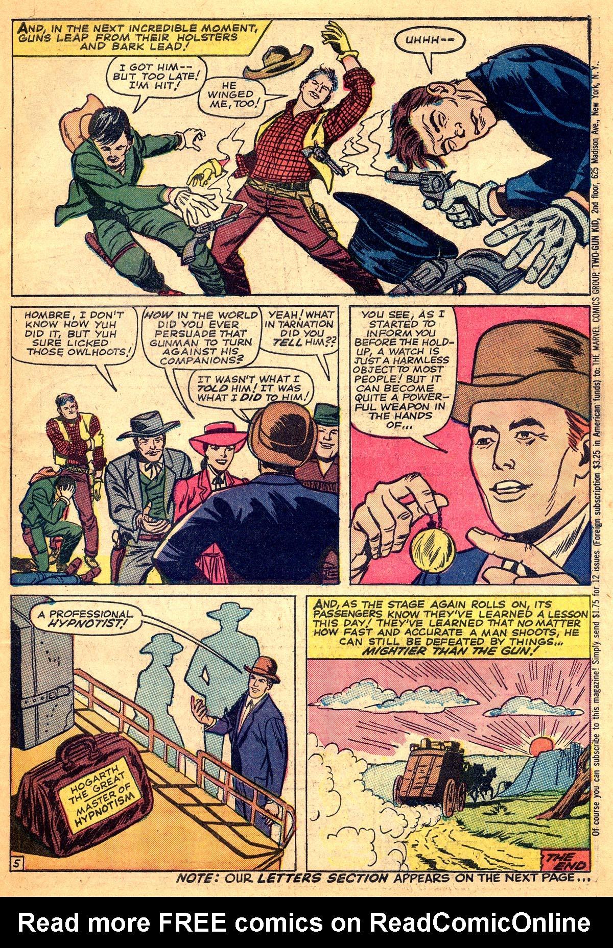 Read online Two-Gun Kid comic -  Issue #74 - 31