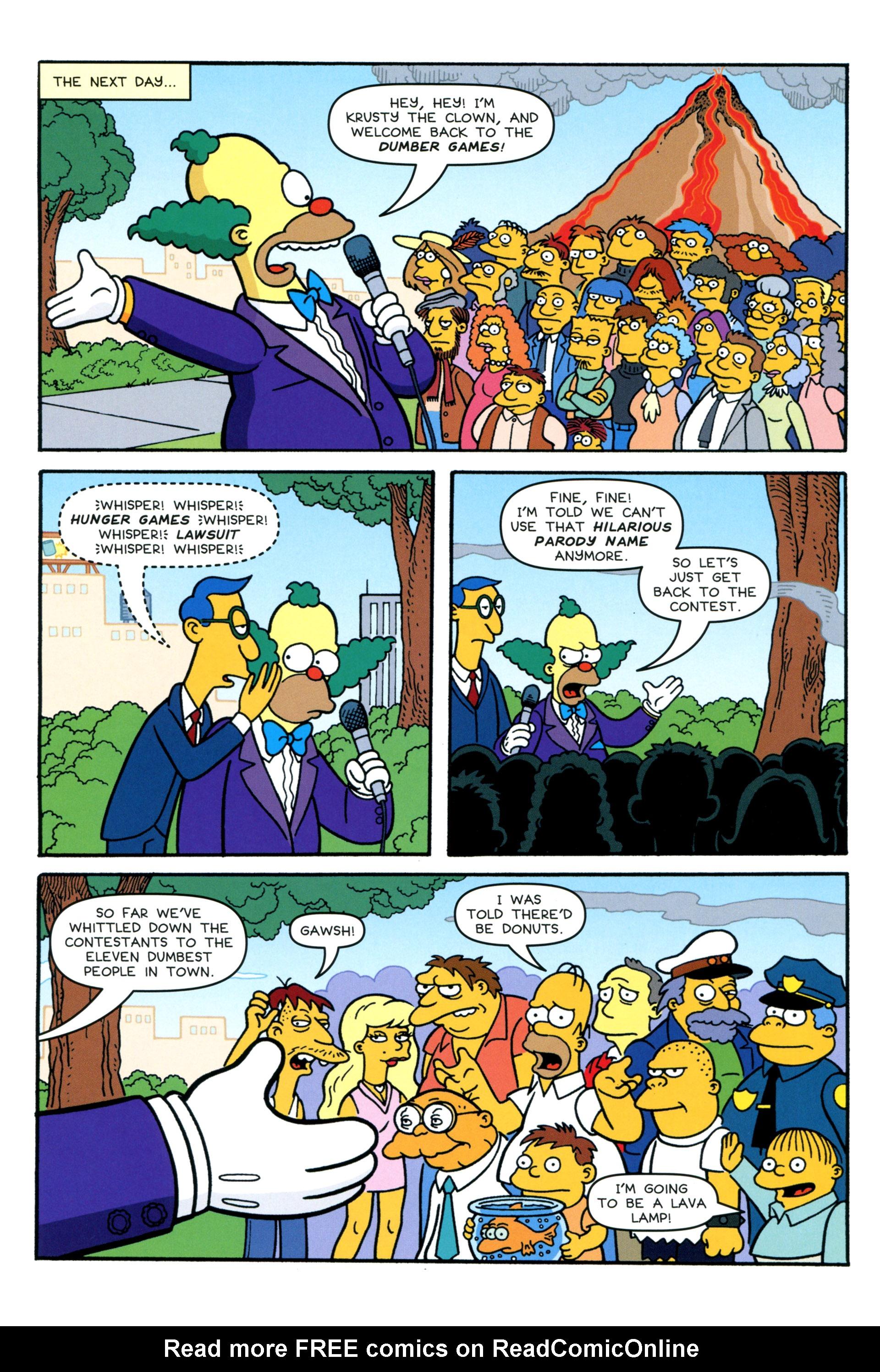 Read online Simpsons Comics comic -  Issue #206 - 14