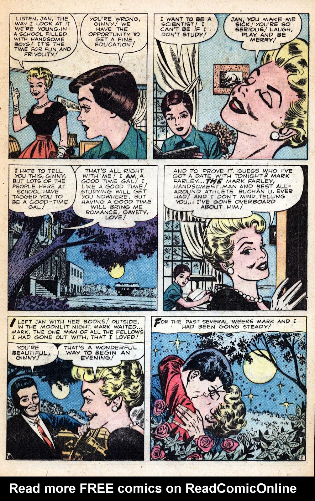 Love Romances (1949) issue 83 - Page 17