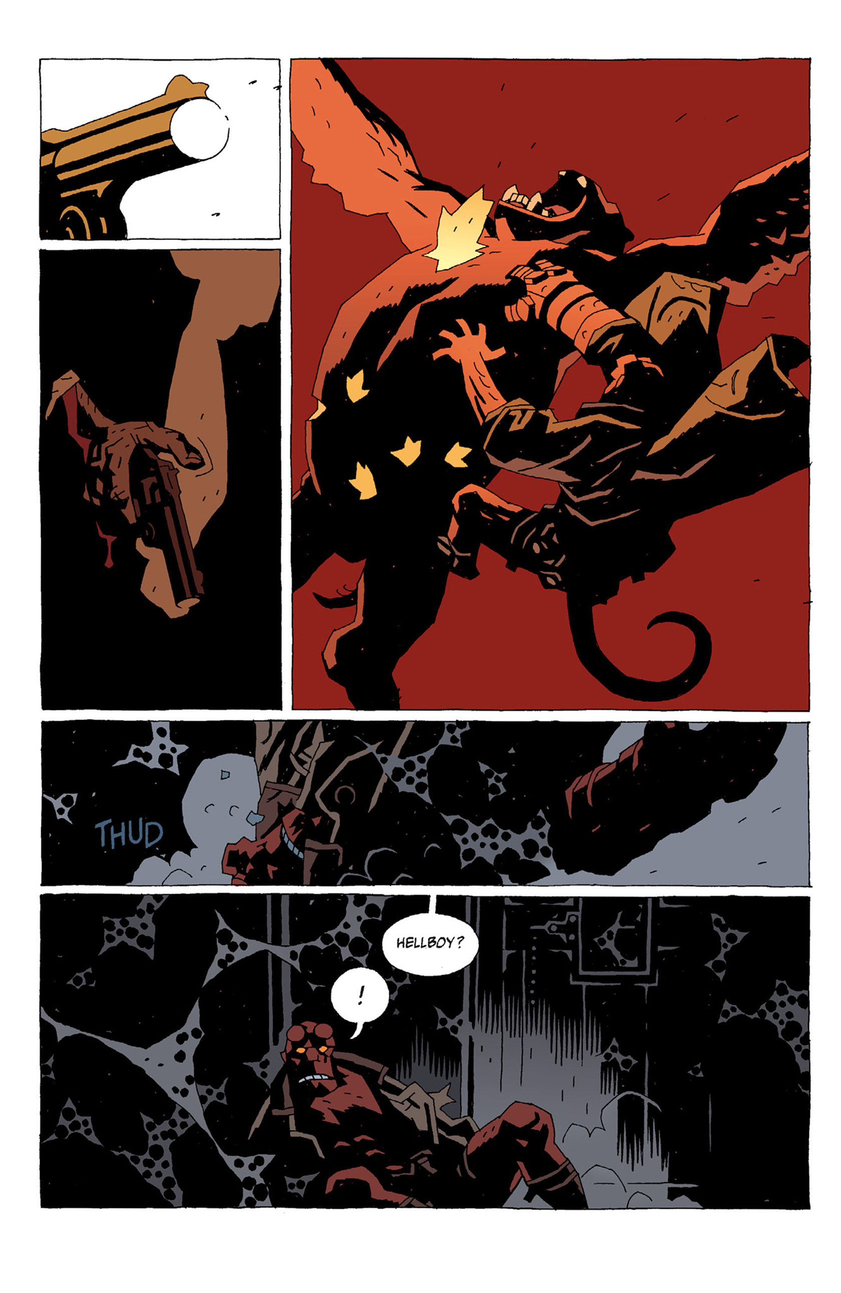 Read online Hellboy: The Troll Witch and Others comic -  Issue # TPB - 66