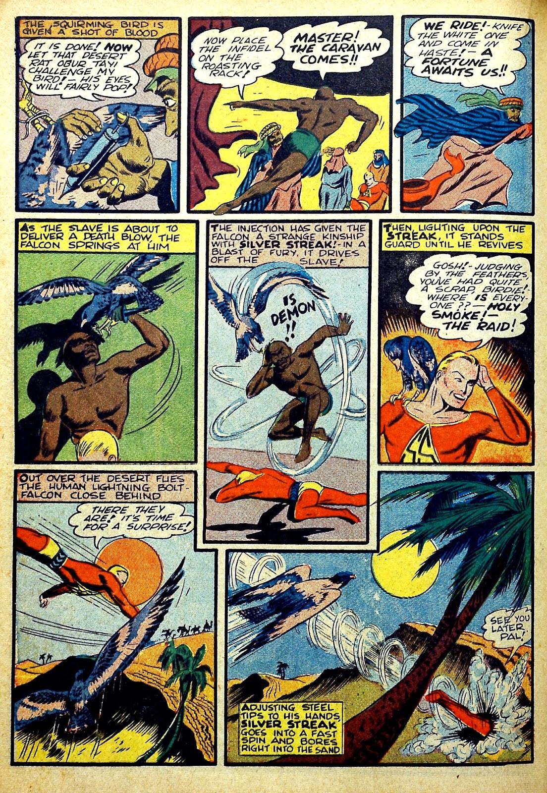 Read online Silver Streak Comics comic -  Issue #22 - 30