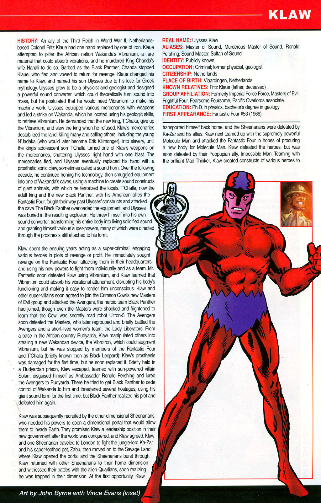 Read online All-New Official Handbook of the Marvel Universe A to Z: Update comic -  Issue #3 - 33