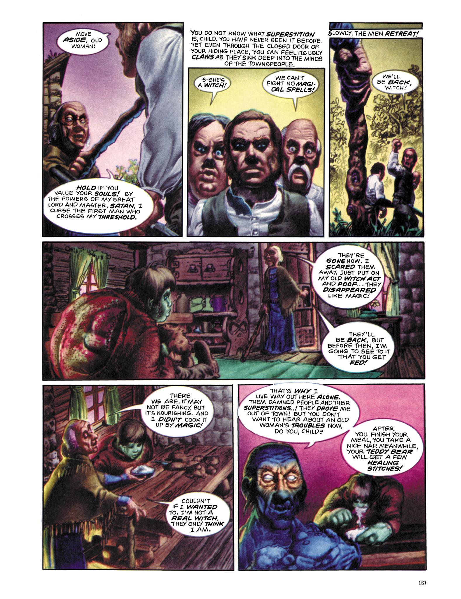 Read online Eerie Archives comic -  Issue # TPB 12 - 168