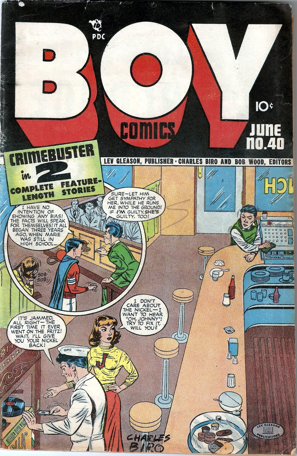 Boy Comics issue 40 - Page 1