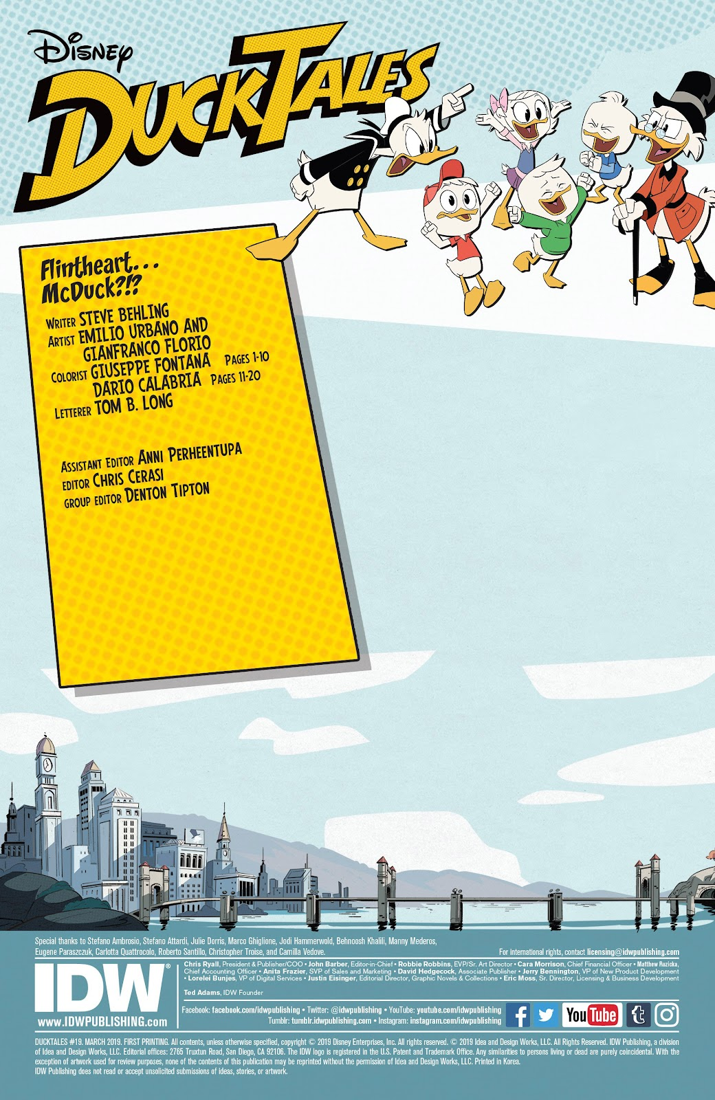 Read online Ducktales (2017) comic -  Issue #19 - 2