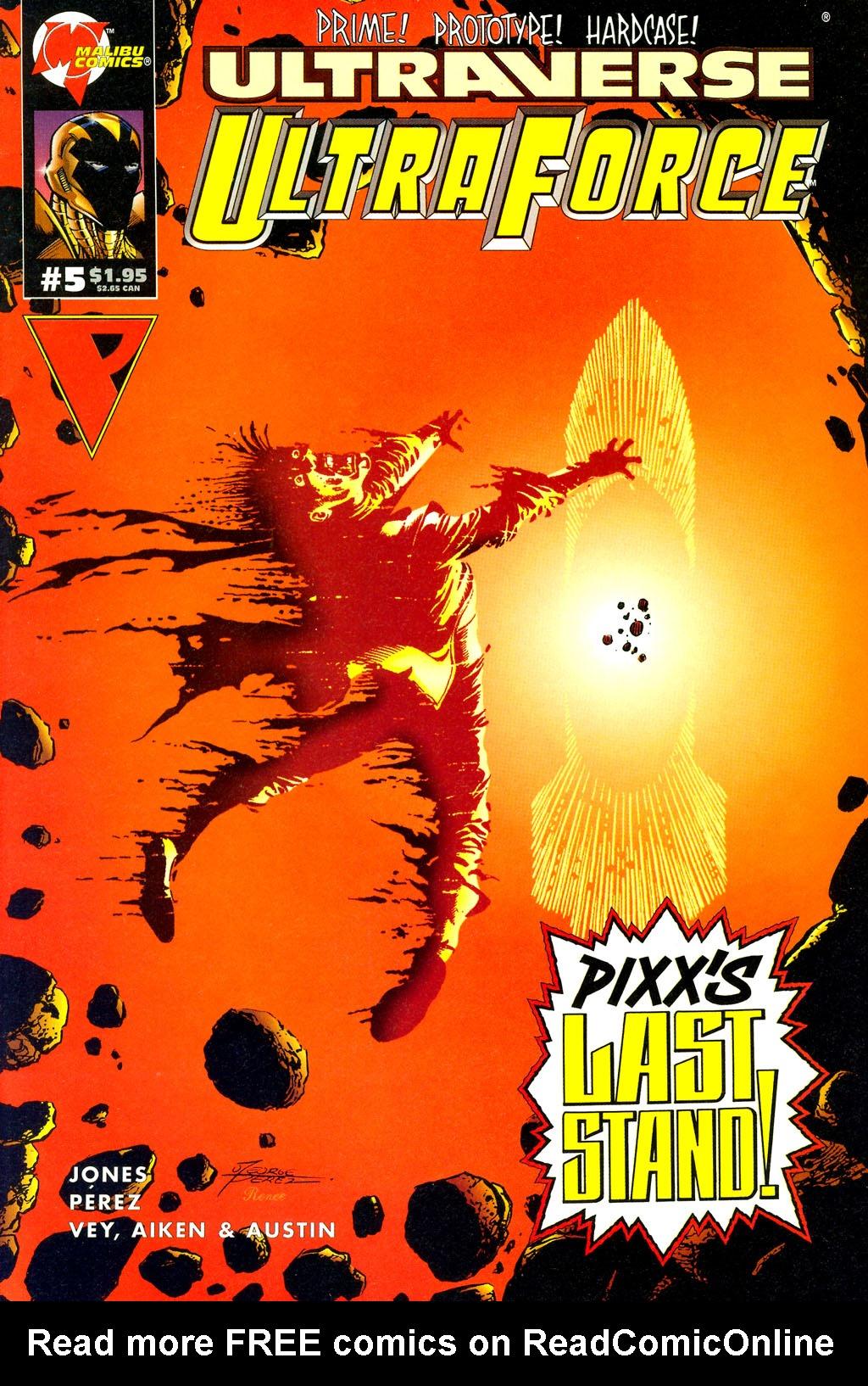 Read online UltraForce (1994) comic -  Issue #5 - 1