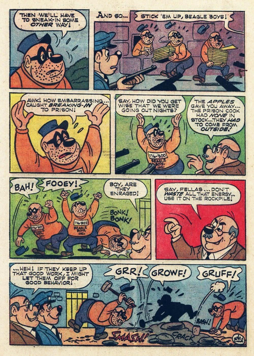 Walt Disney THE BEAGLE BOYS issue 6 - Page 12