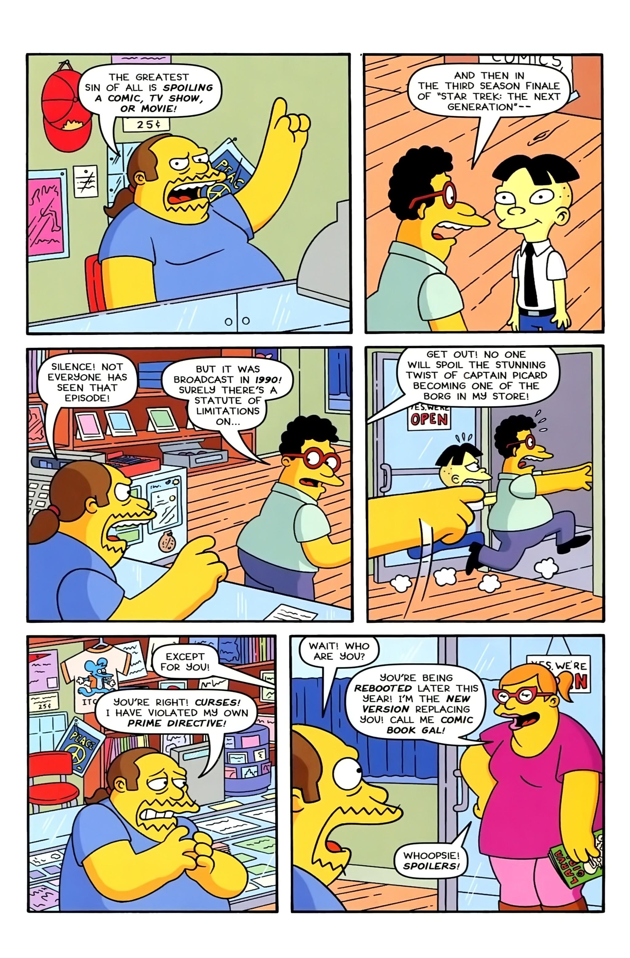 Read online Simpsons Comics comic -  Issue #234 - 21