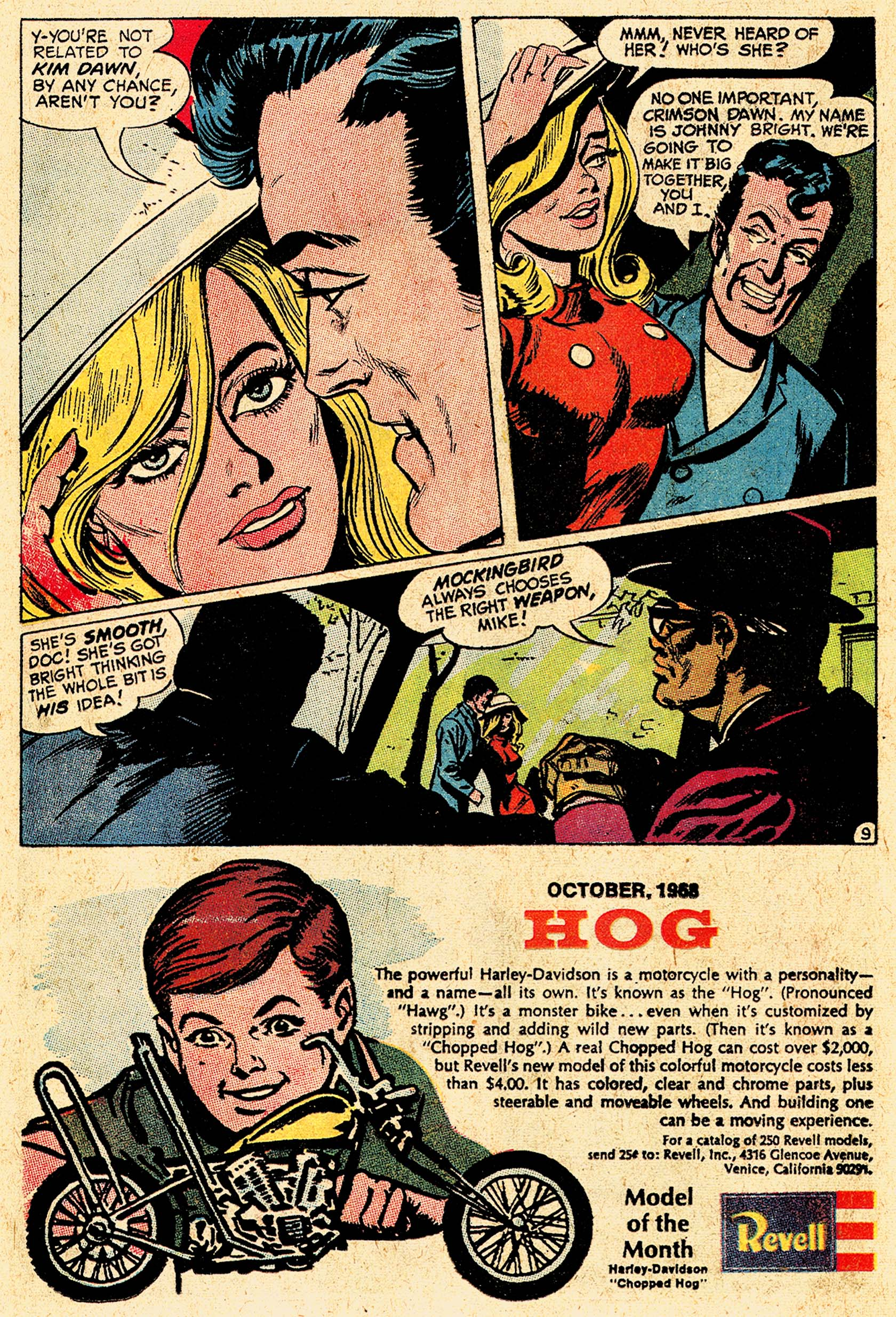 Read online Secret Six (1968) comic -  Issue #5 - 13