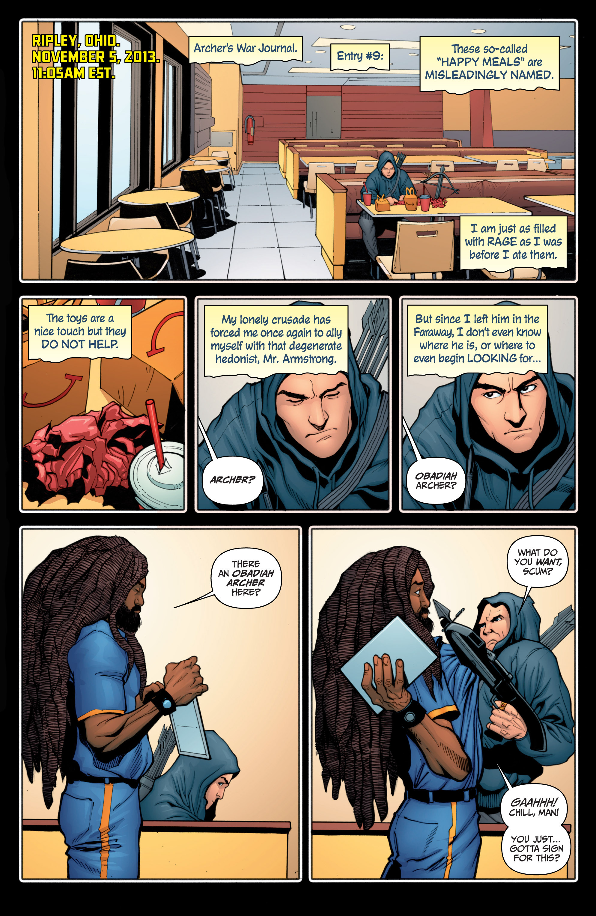Read online Archer and Armstrong comic -  Issue #Archer and Armstrong _TPB 4 - 51