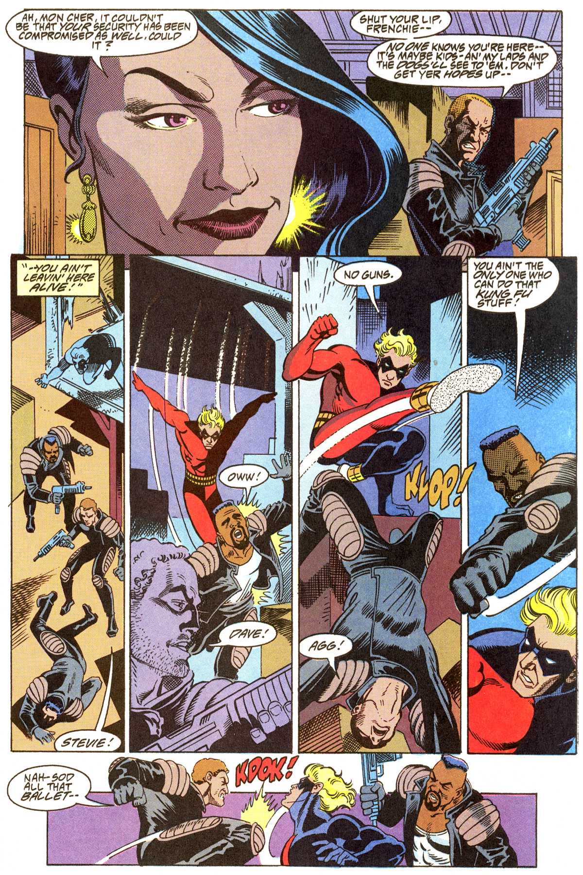 Read online Peter Cannon--Thunderbolt (1992) comic -  Issue #8 - 20