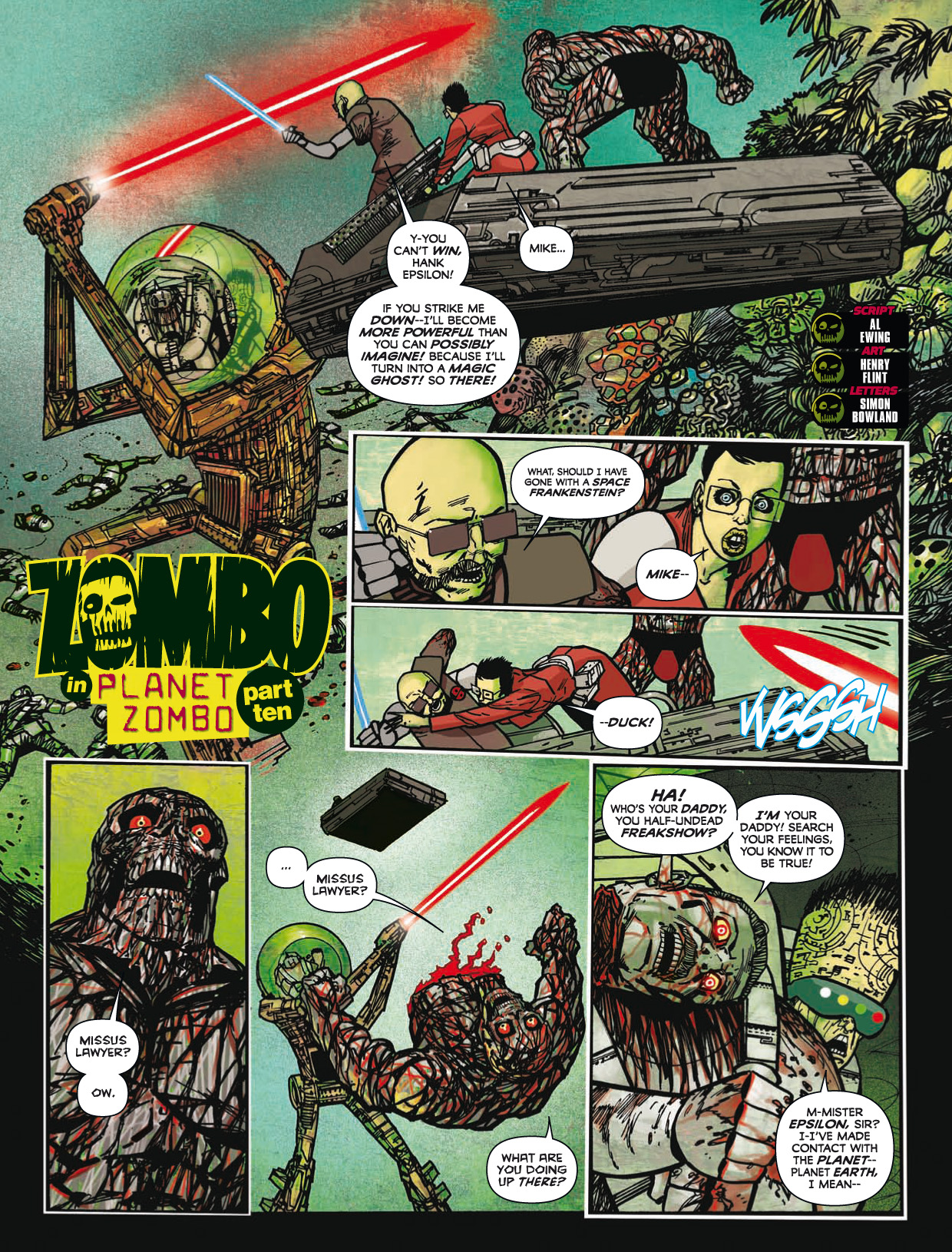 Read online 2000 AD comic -  Issue #1746 - 187