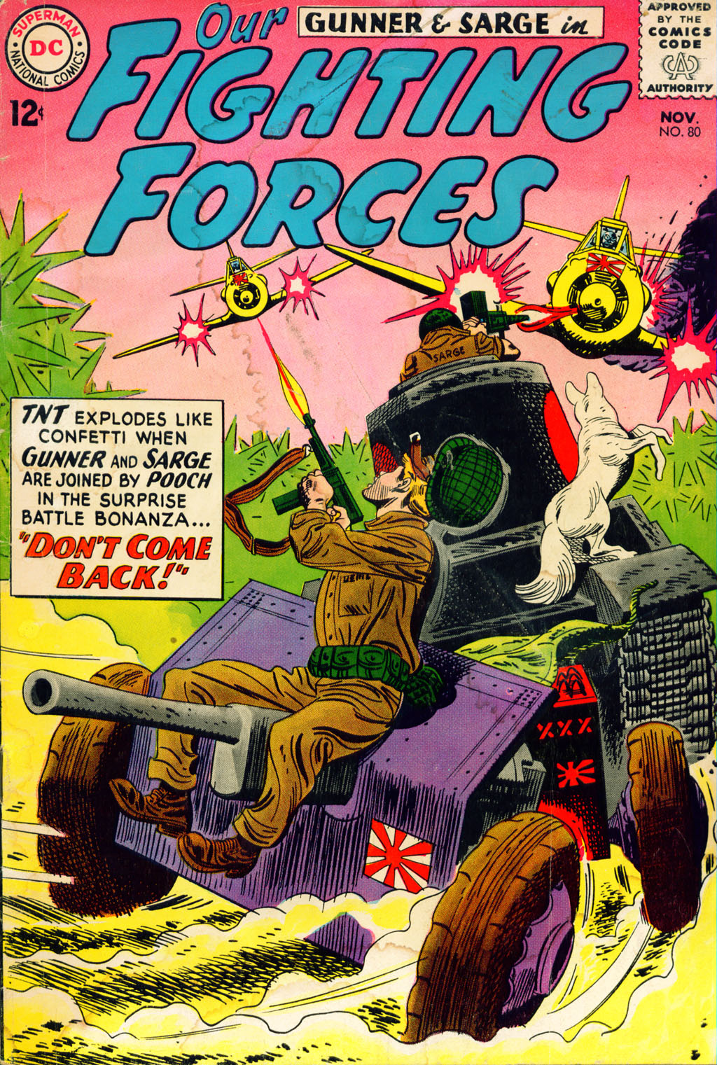 Our Fighting Forces (1954) issue 80 - Page 1
