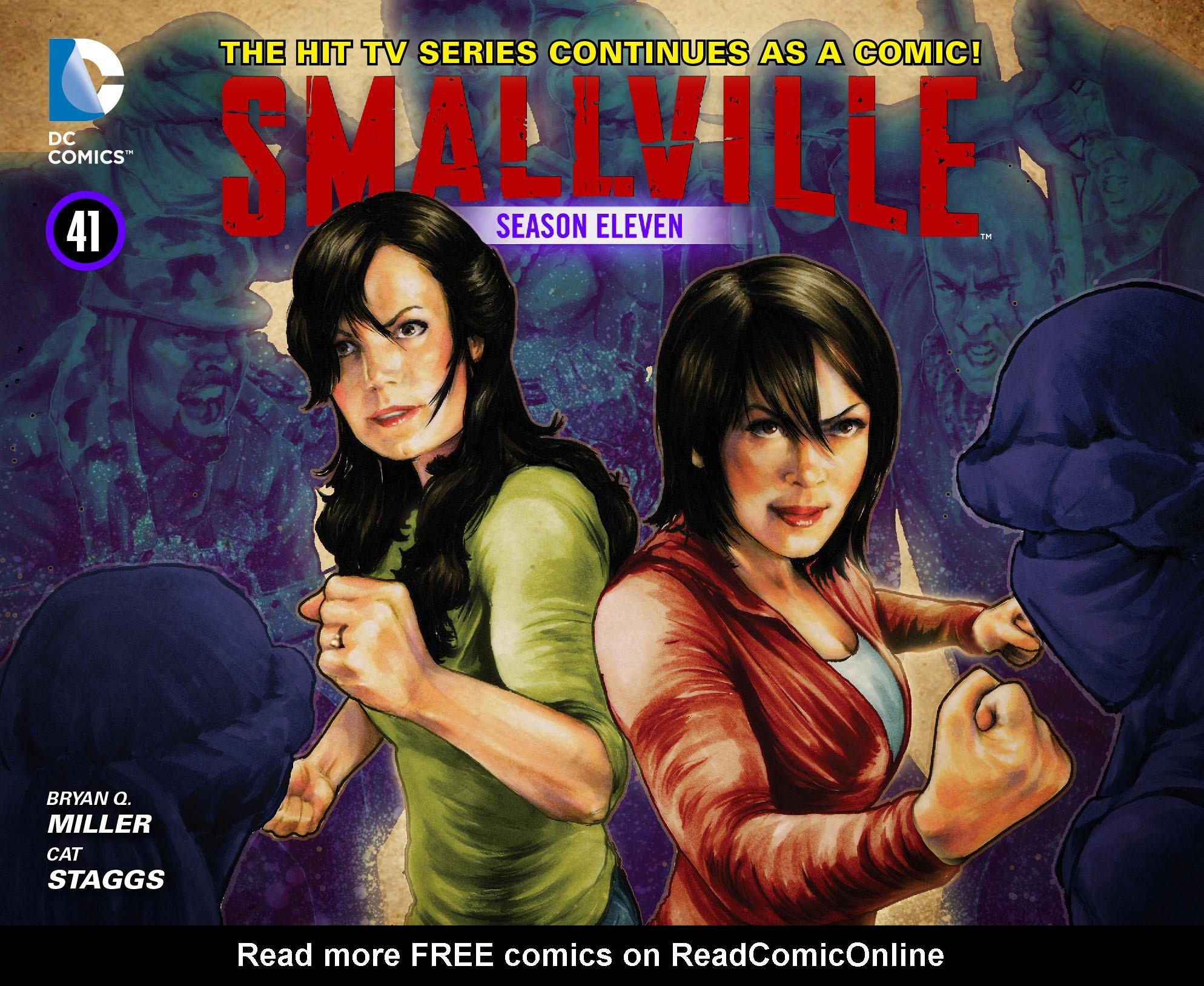Read online Smallville: Season 11 comic -  Issue #41 - 1