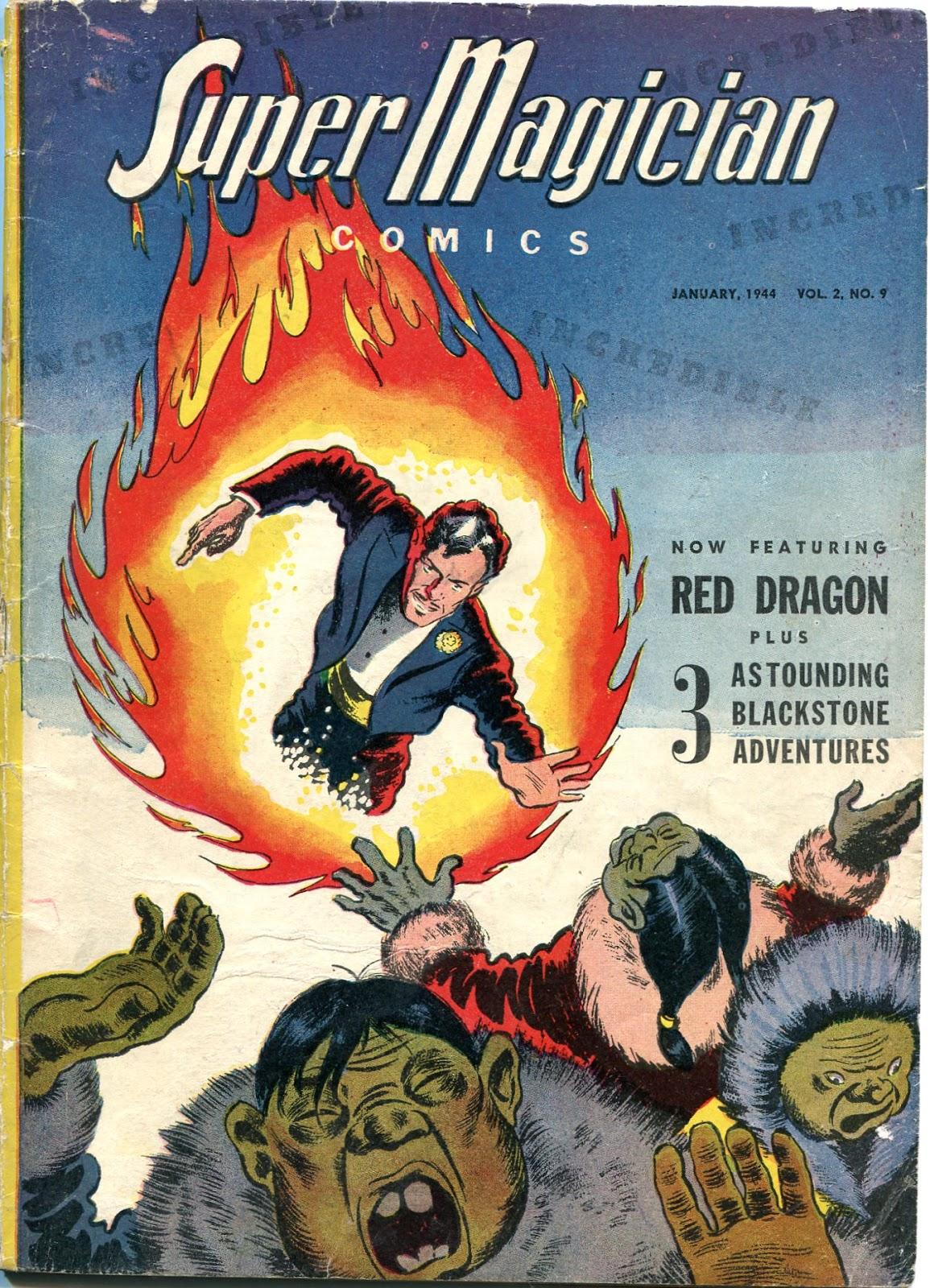 Read online Super-Magician Comics comic -  Issue #21 - 1