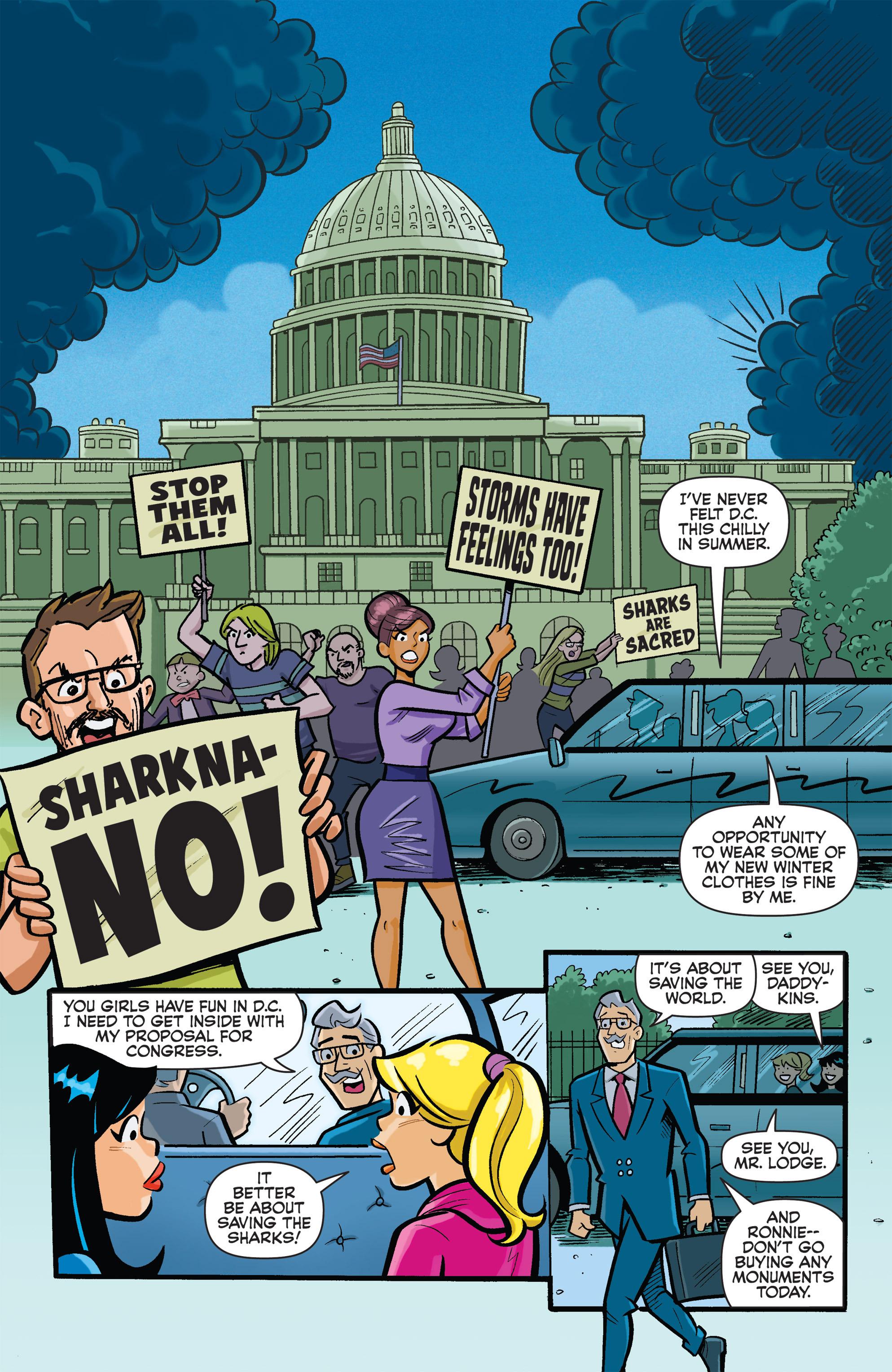 Read online Archie vs. Sharknado comic -  Issue #Archie vs. Sharknado Full - 2