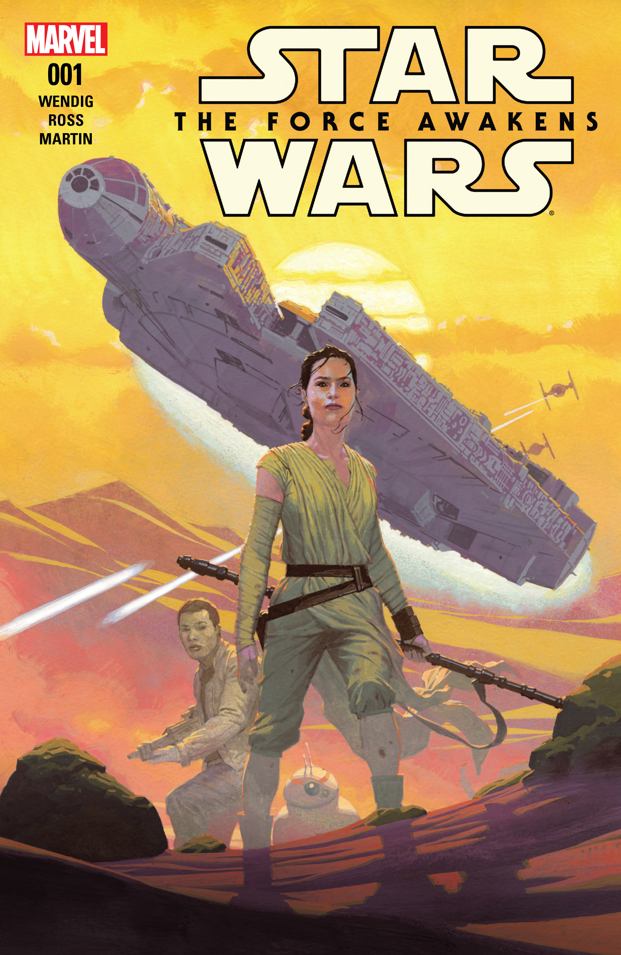 Star Wars: The Force Awakens Adaptation 1 Page 1