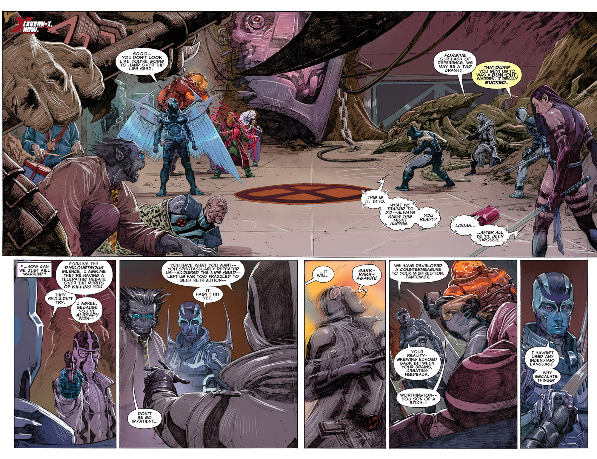 Read online Uncanny X-Force (2010) comic -  Issue #14 - 7