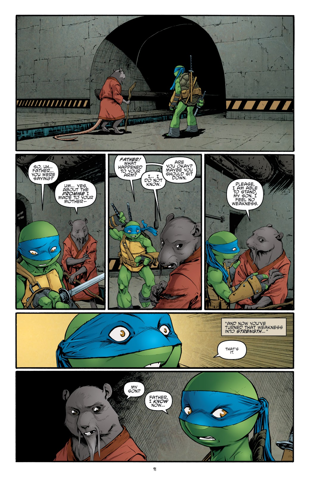 Read online Teenage Mutant Ninja Turtles: The IDW Collection comic -  Issue # TPB 4 (Part 3) - 96