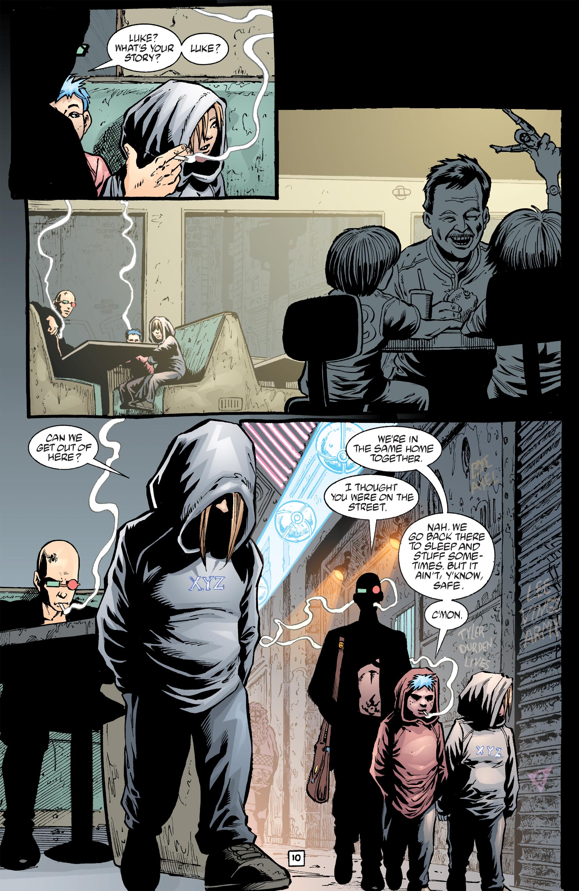 Read online Transmetropolitan comic -  Issue #40 - 11