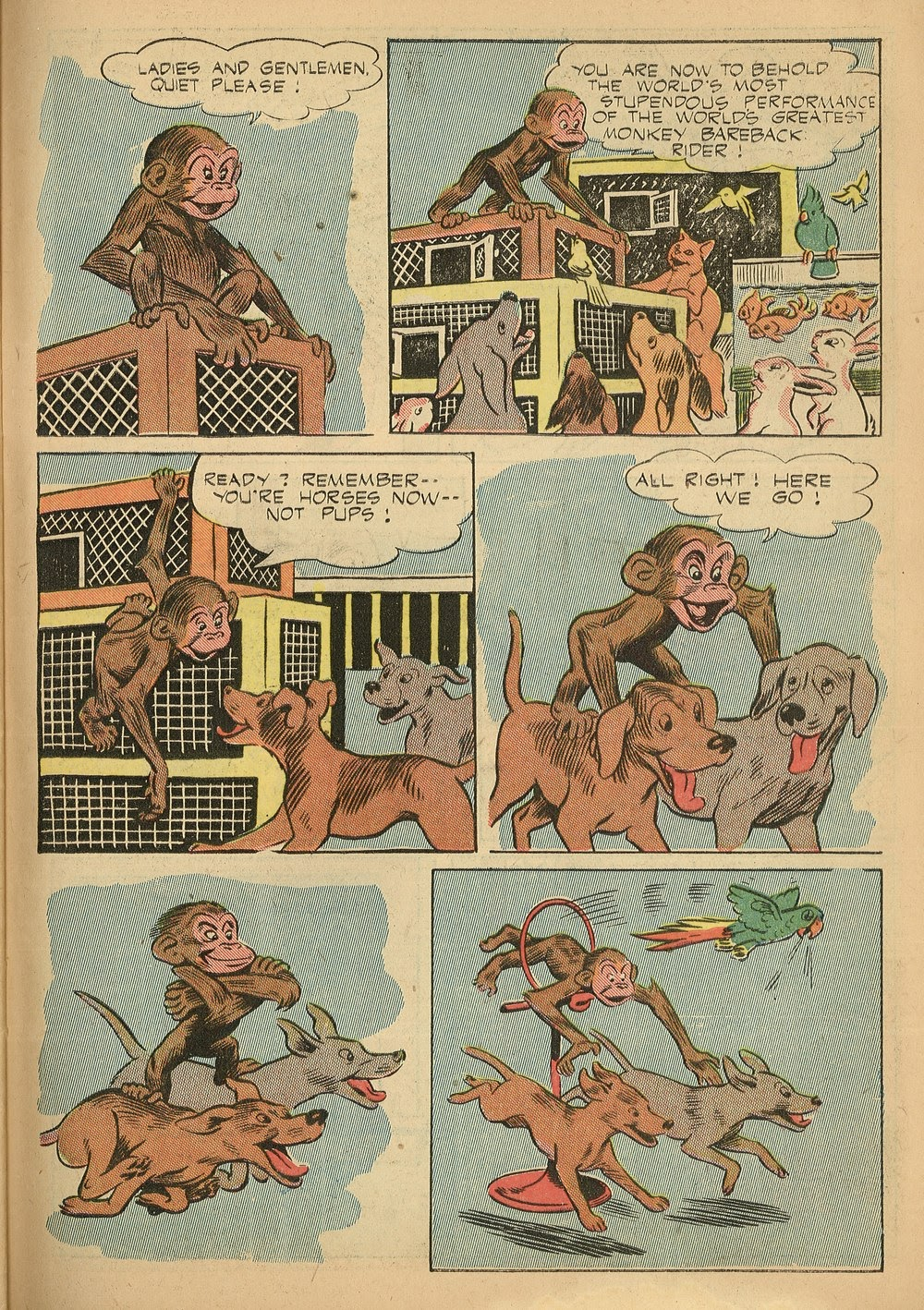 Read online Animal Comics comic -  Issue #24 - 45