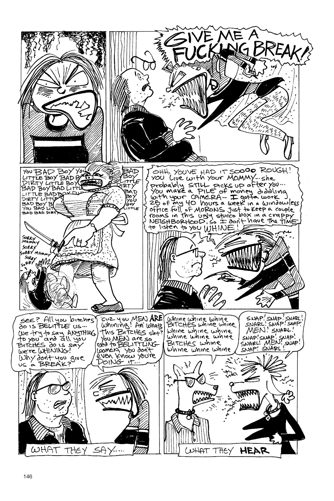 Read online Life's a Bitch: The Complete Bitchy Bitch Stories comic -  Issue # TPB (Part 2) - 43