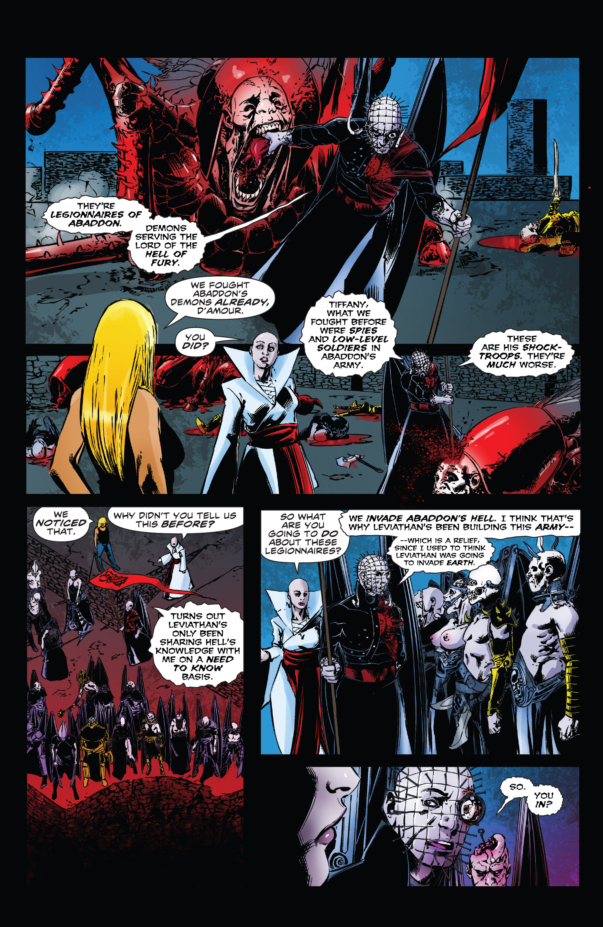 Read online Clive Barker's Hellraiser: The Dark Watch comic -  Issue # TPB 3 - 62