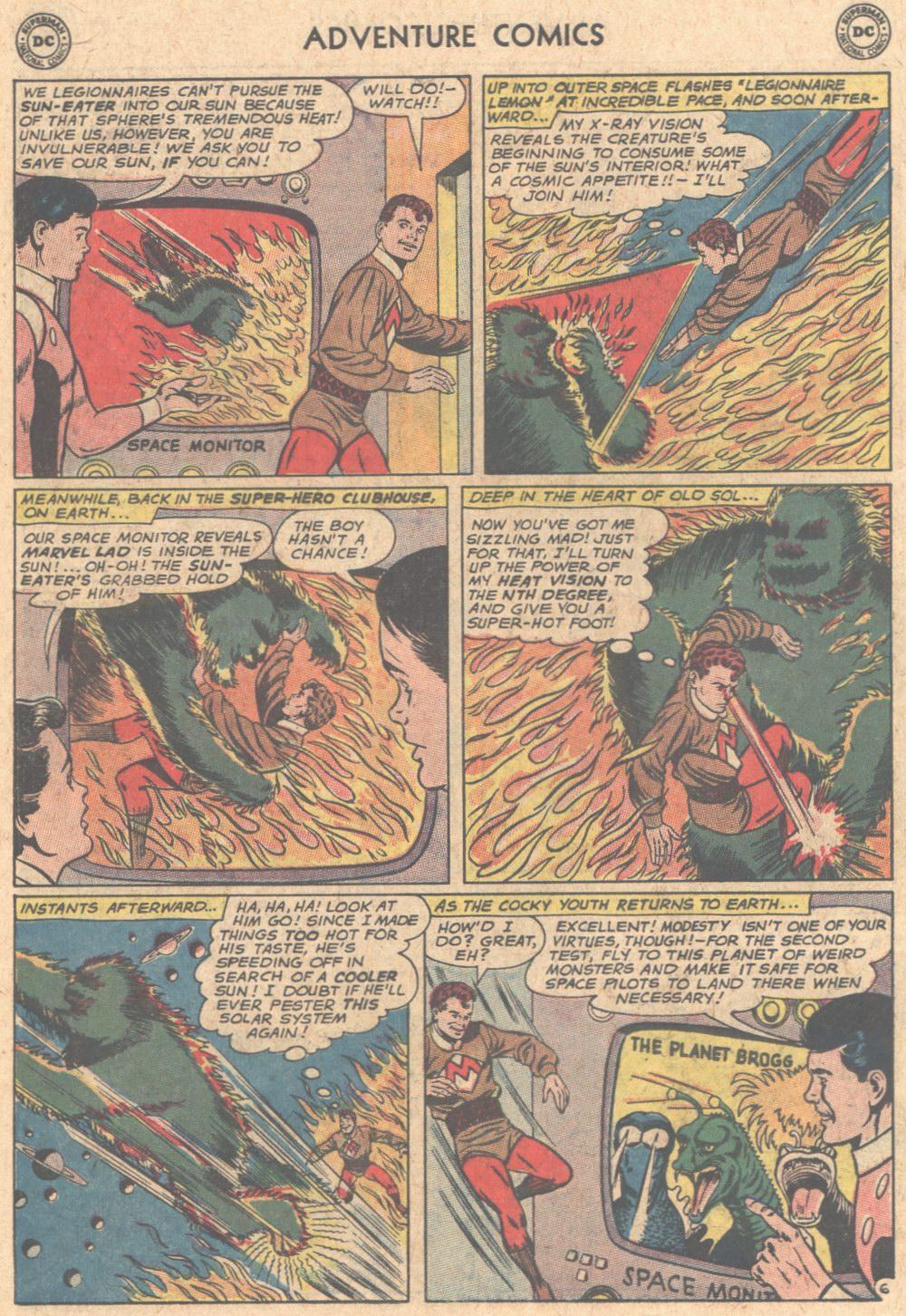 Read online Adventure Comics (1938) comic -  Issue #305 - 22