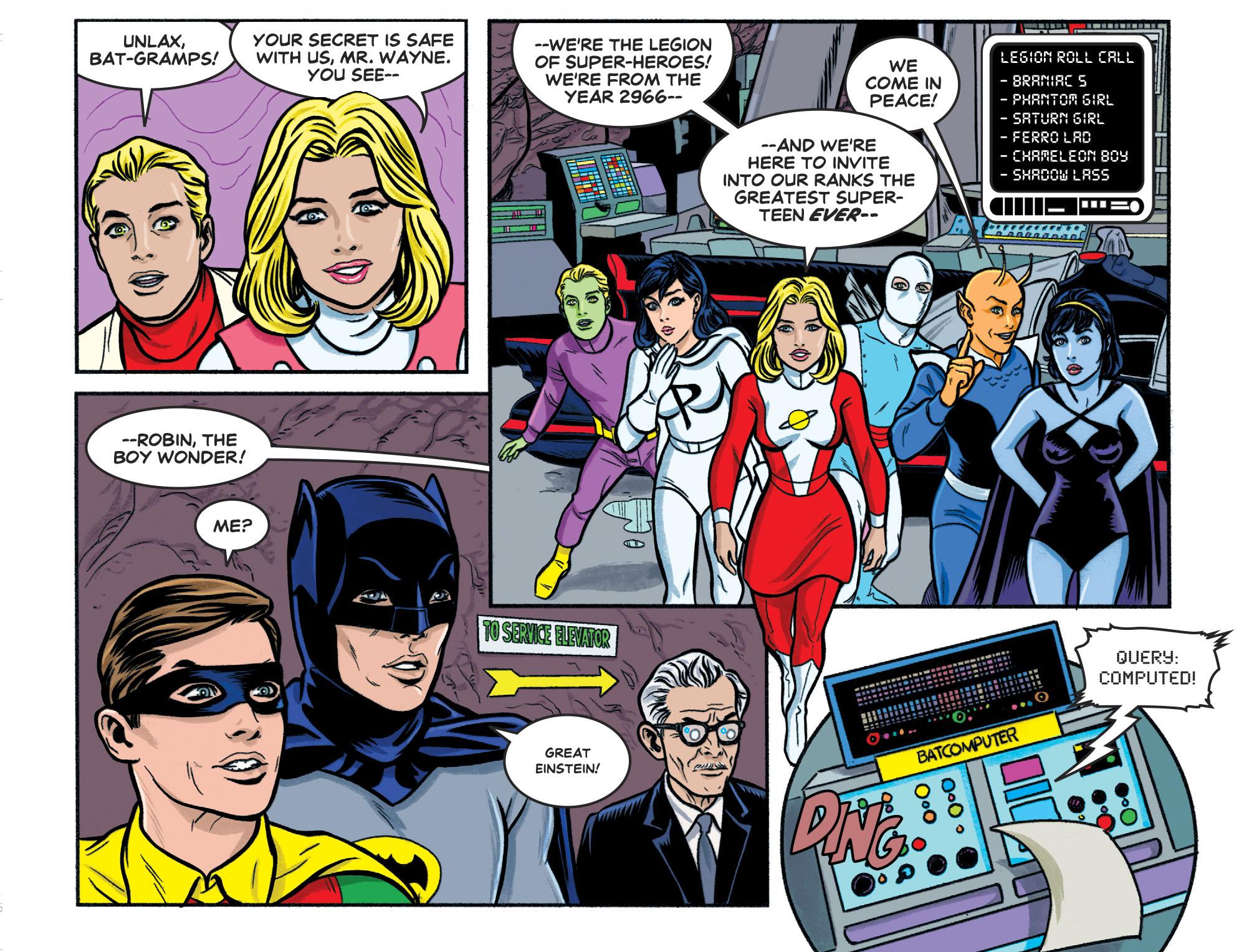 Read online Batman '66 Meets the Legion of Super-Heroes comic -  Issue #1 - 7