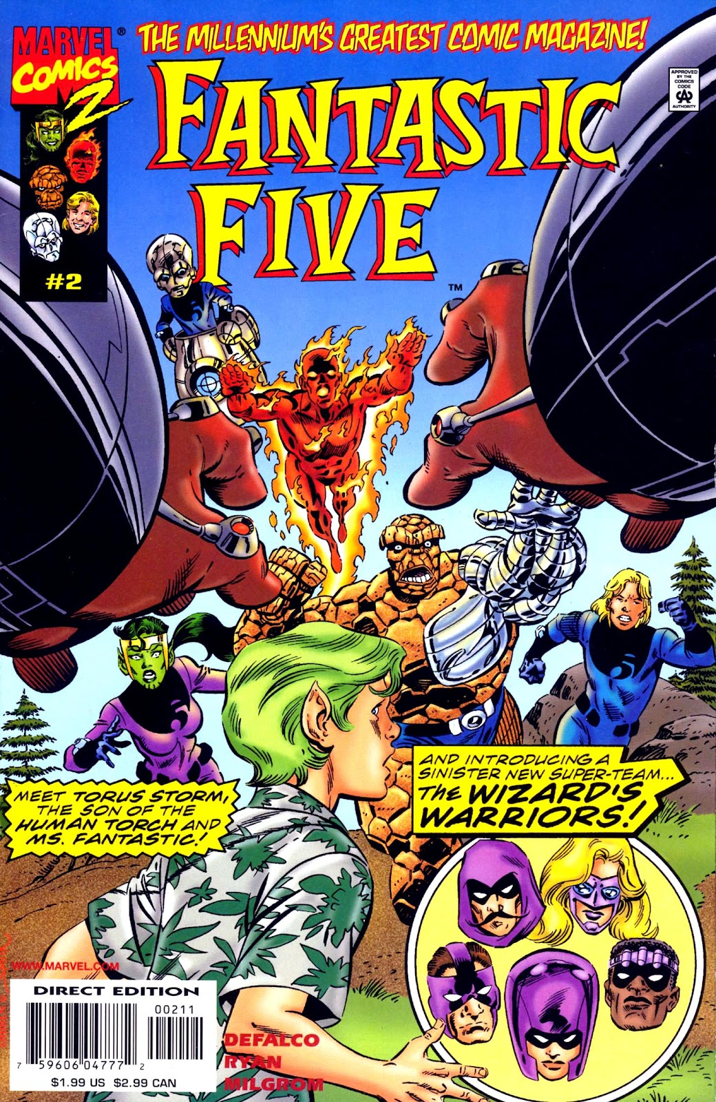 Fantastic Five (1999) issue 2 - Page 1