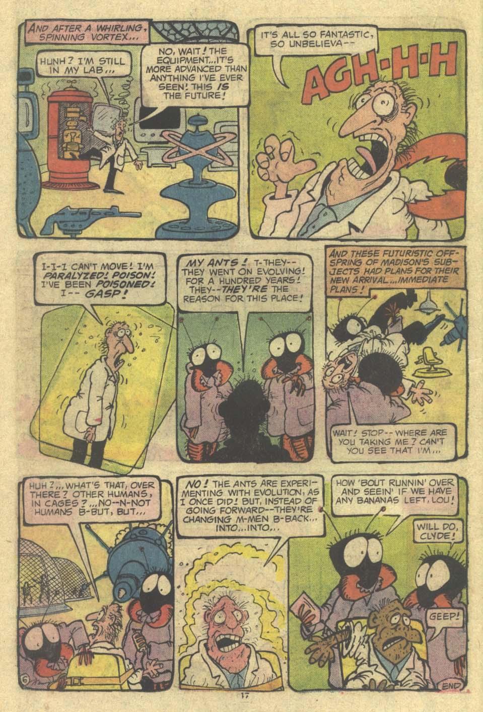 Read online Plop! comic -  Issue #9 - 18