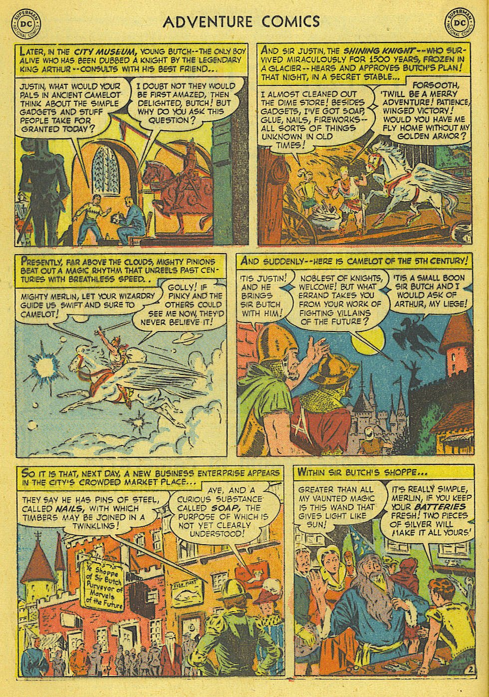 Read online Adventure Comics (1938) comic -  Issue #165 - 15