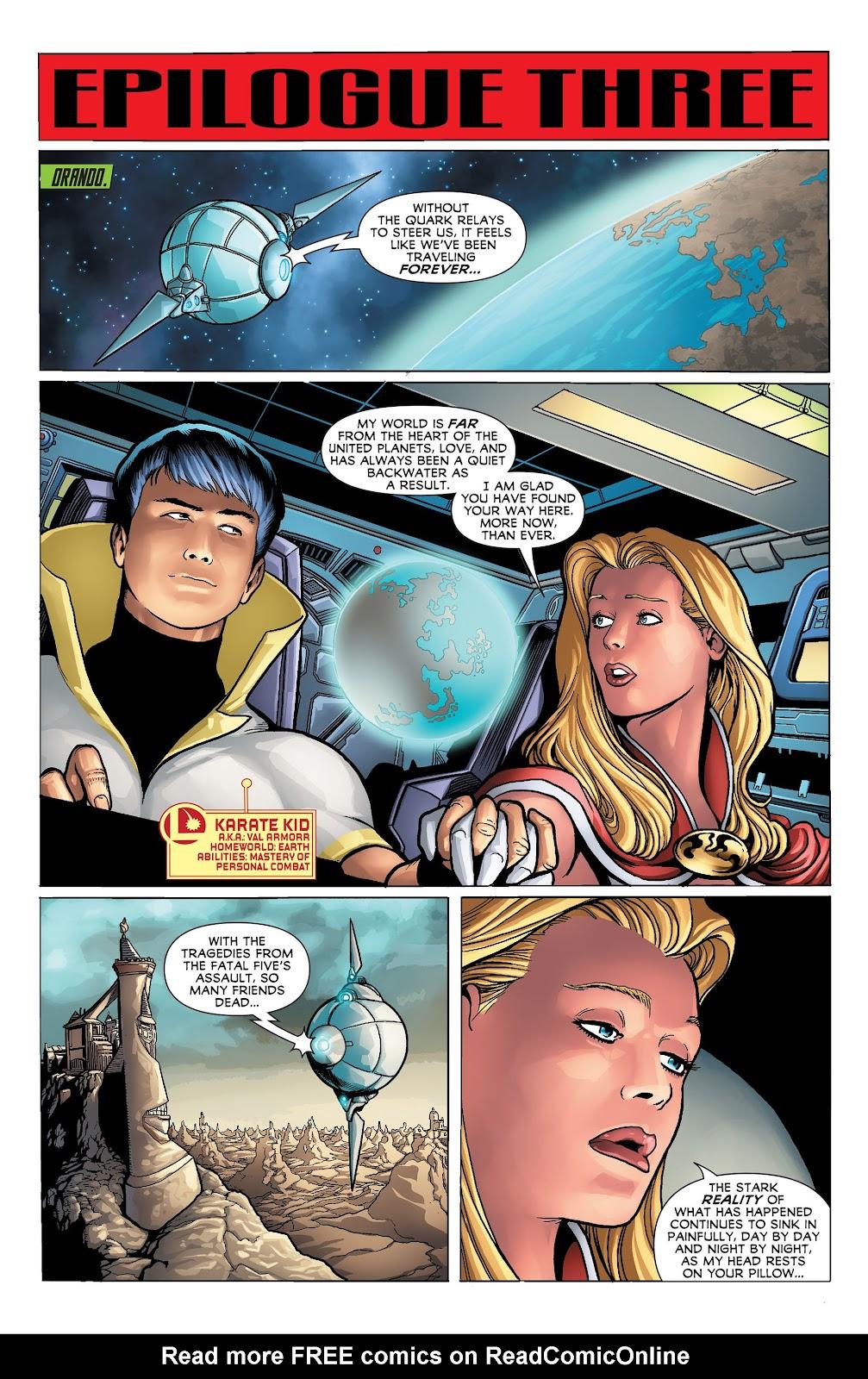Legion of Super-Heroes (2011) Issue #23 #24 - English 17