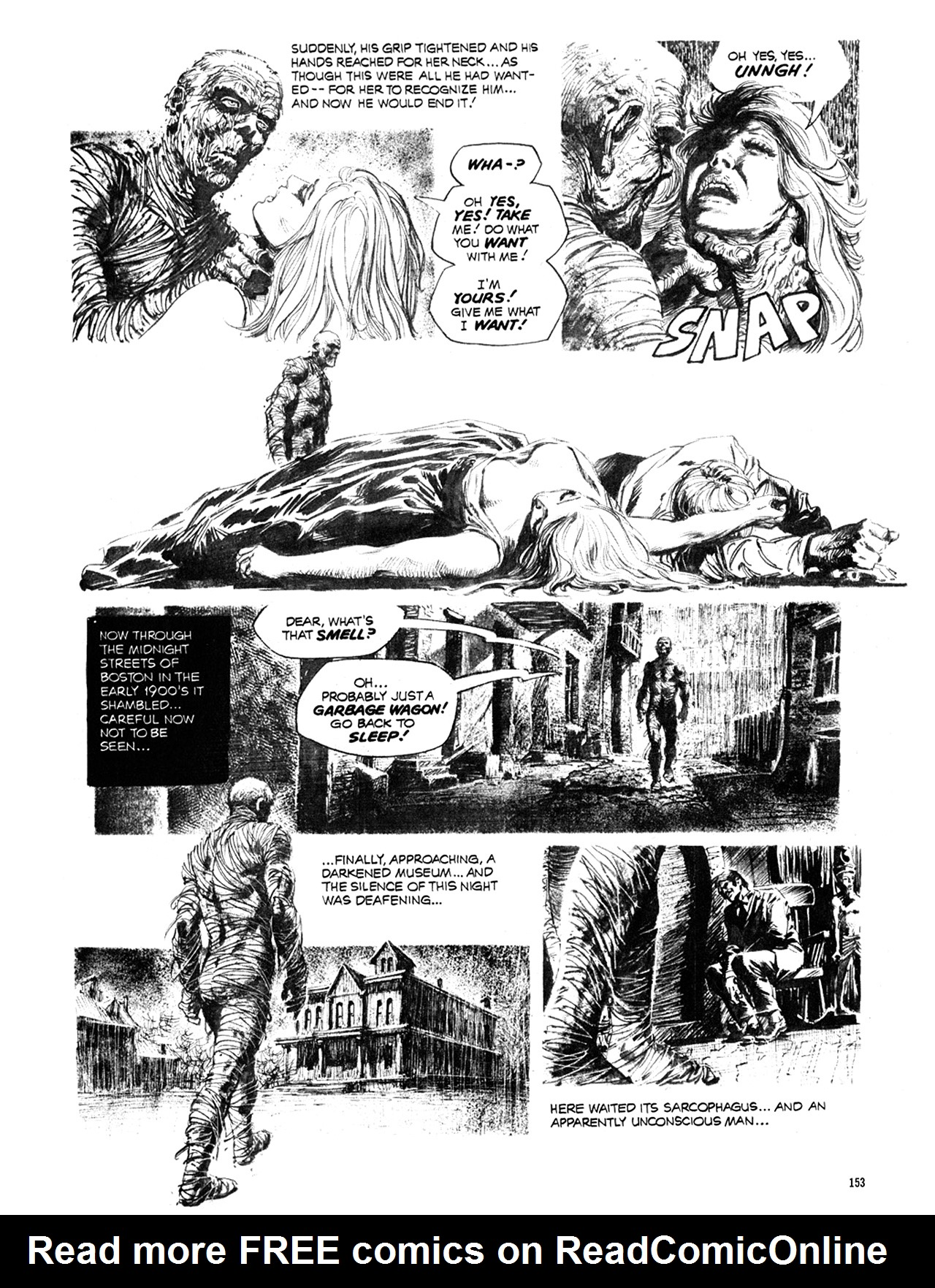 Read online Eerie Archives comic -  Issue # TPB 10 - 154
