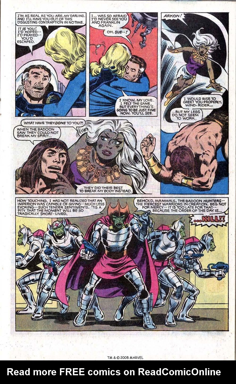 Read online Uncanny X-Men (1963) comic -  Issue # _Annual 5 - 33