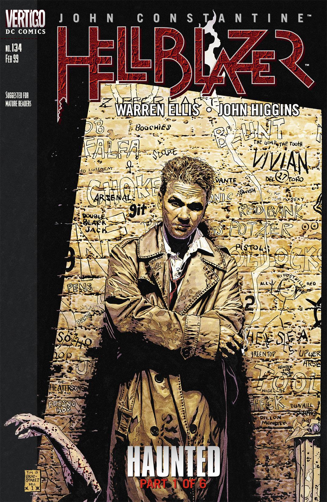 Hellblazer issue 134 - Page 1