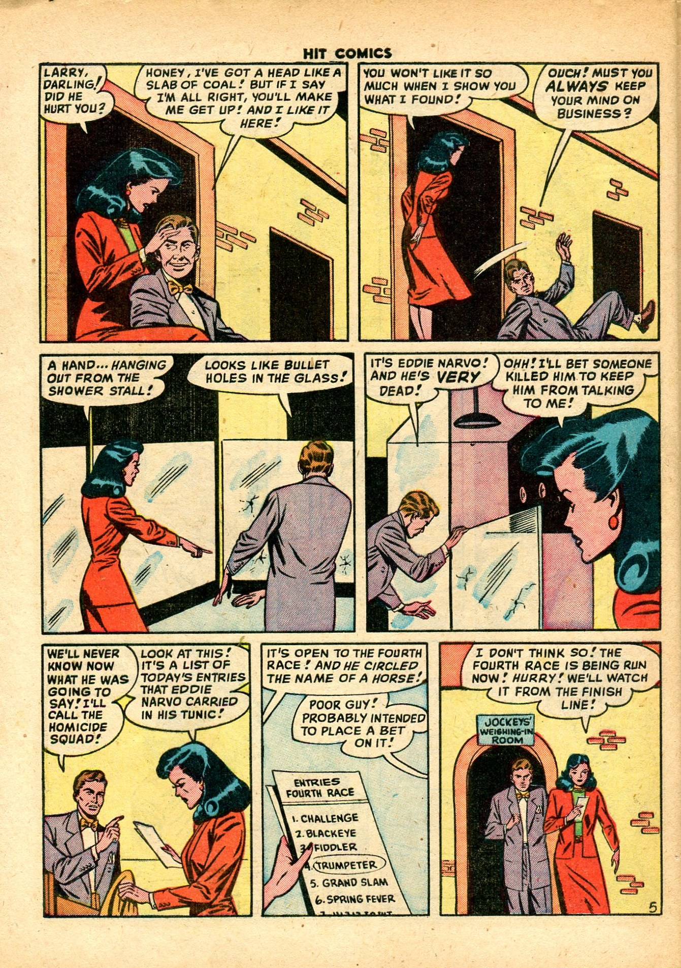 Read online Hit Comics comic -  Issue #59 - 32