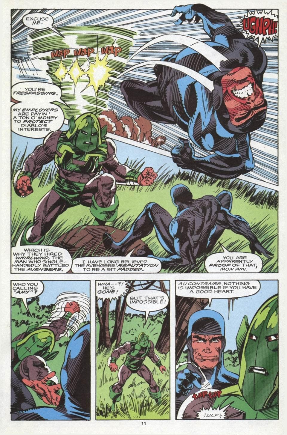 Read online Alpha Flight (1983) comic -  Issue #102 - 9